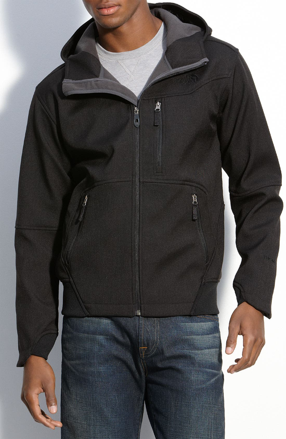 Alternate Image 1 Selected - The North Face 'Chizzler' Hooded Performance Jacket