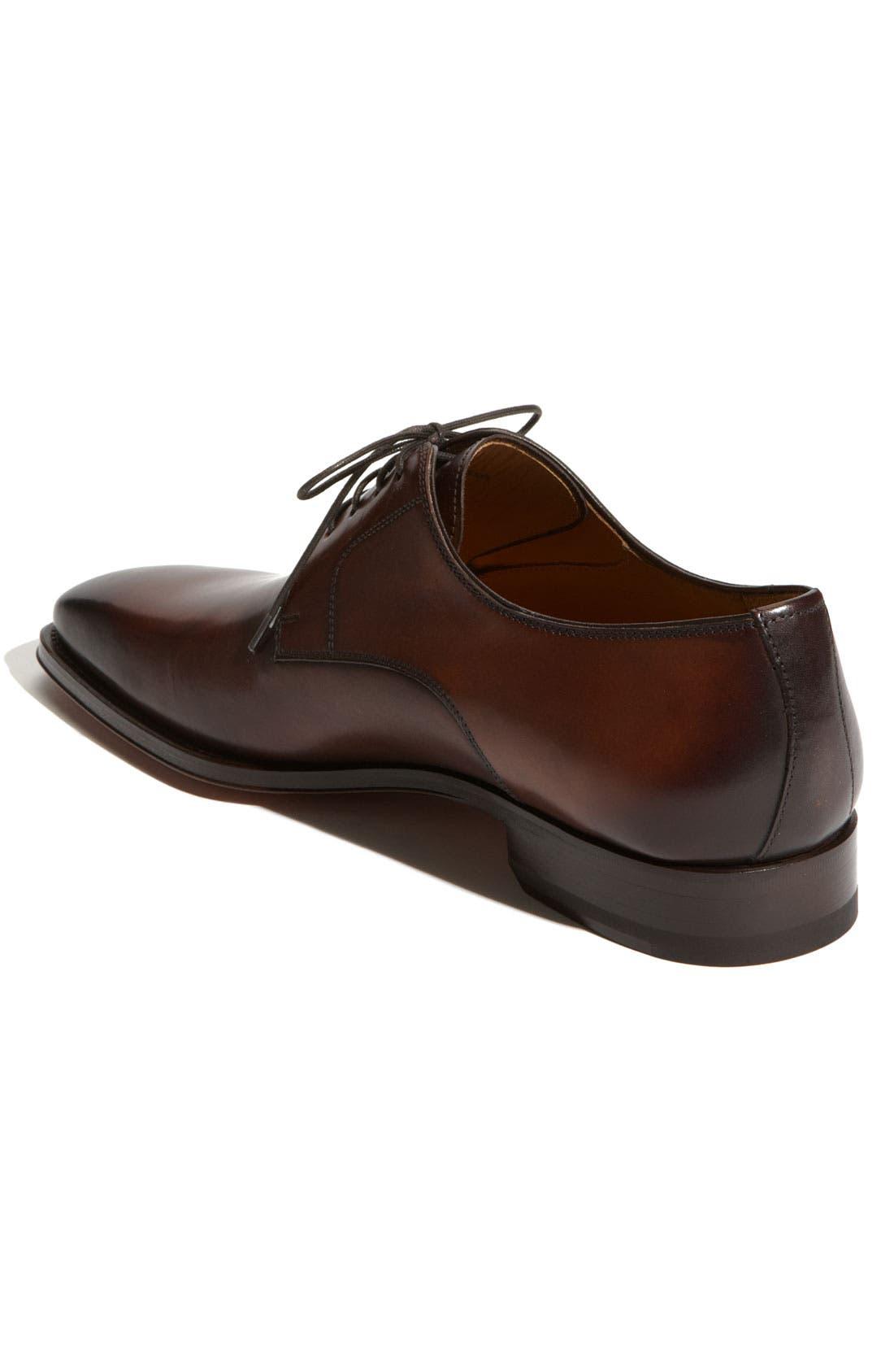 Alternate Image 2  - Magnanni 'Colo' Plain Toe Derby (Men)
