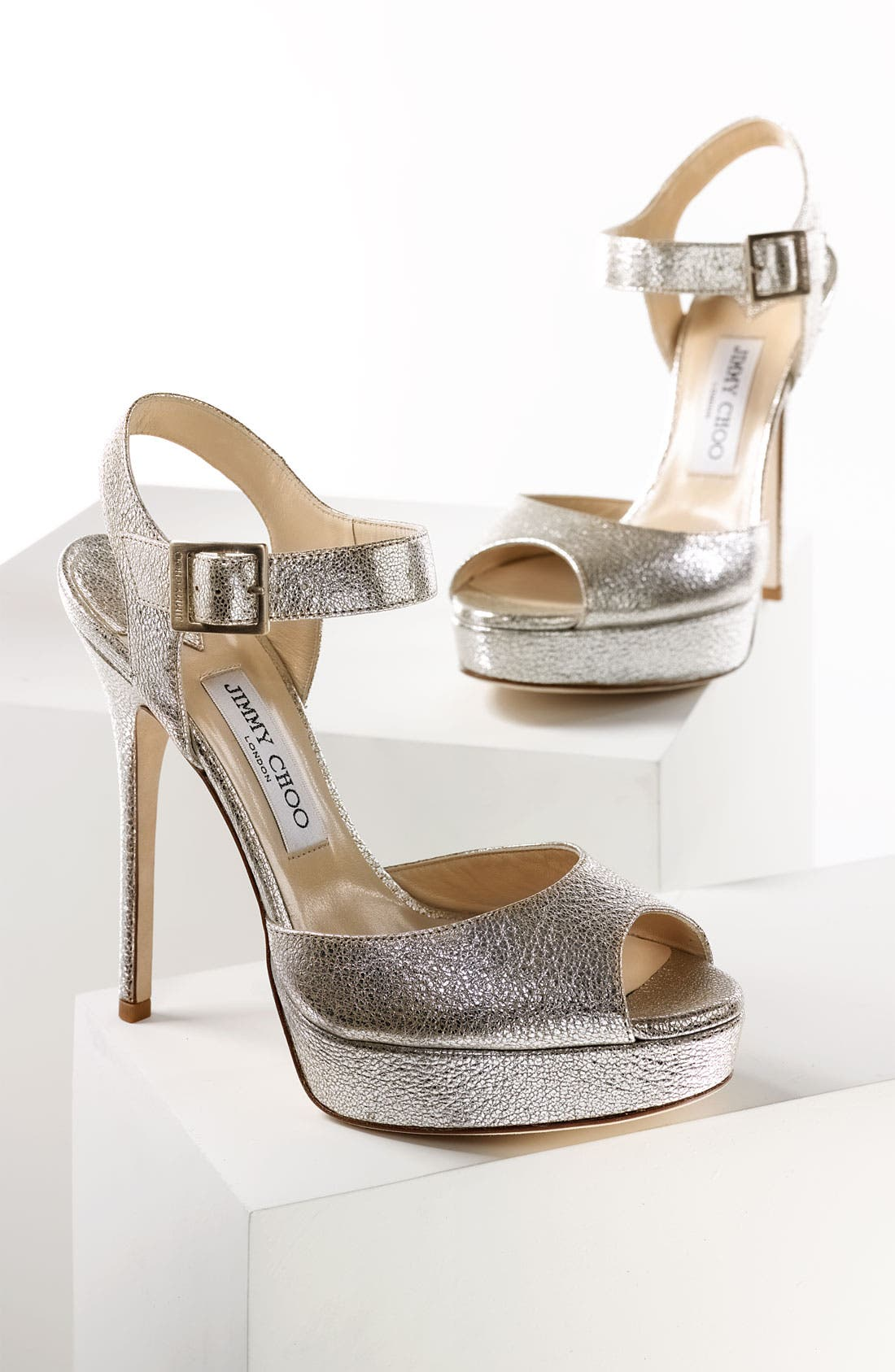Alternate Image 4  - Jimmy Choo 'Linda' Sandal (Exclusive Color)