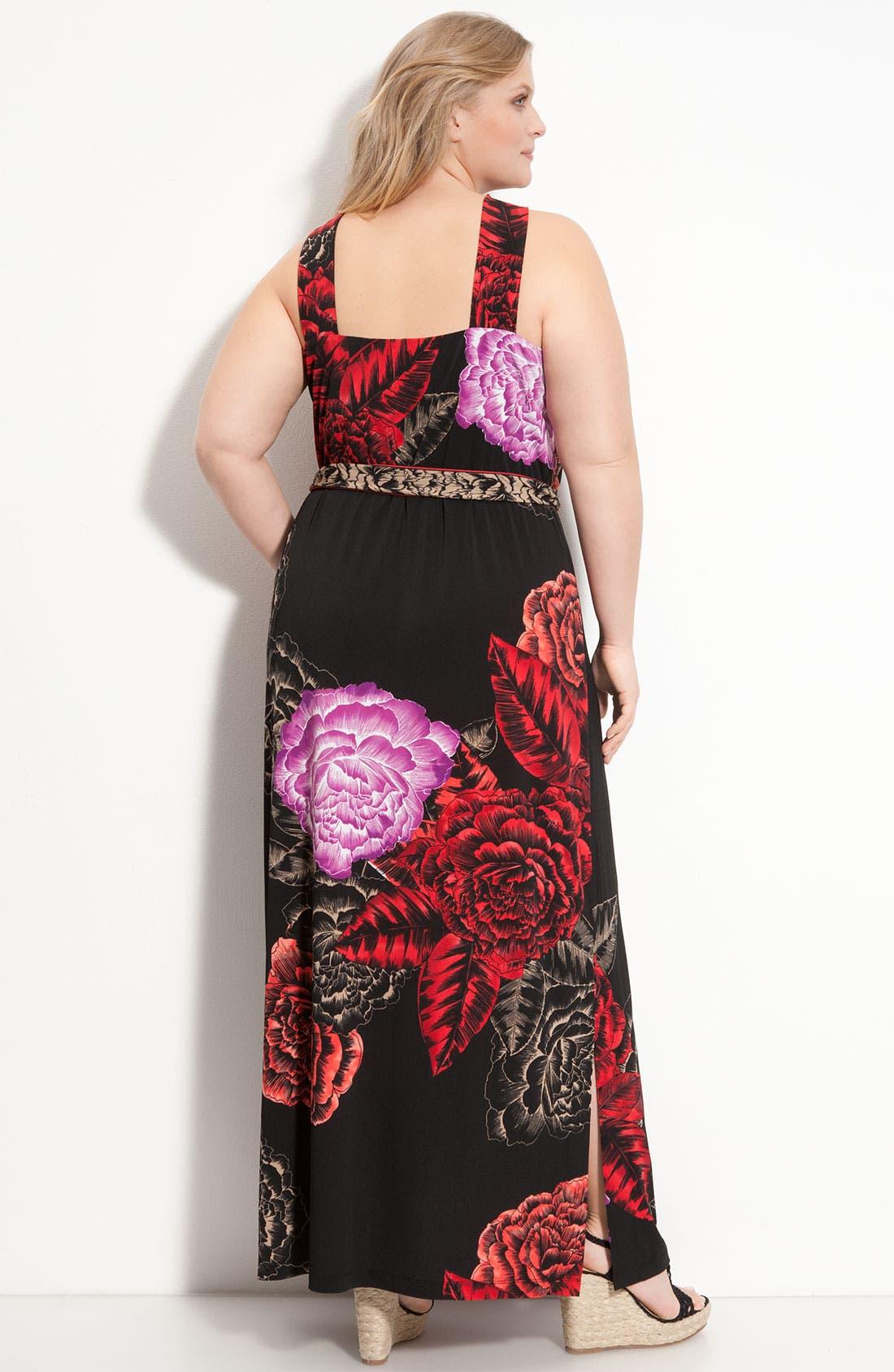 Alternate Image 2  - Tahari Woman 'Vivian' Dress (Plus)