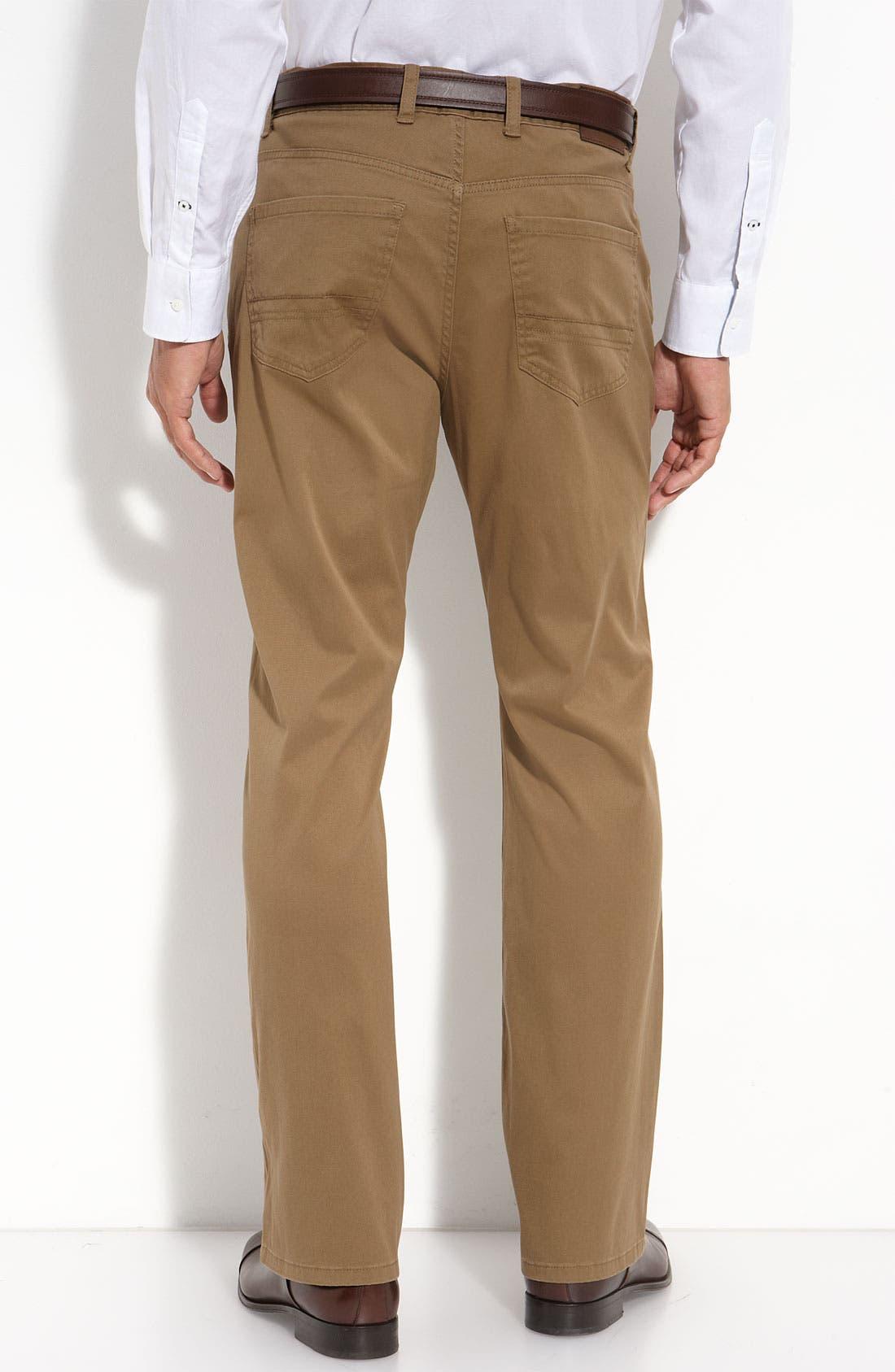 Alternate Image 2  - Cutter & Buck 'Colin' Twill Pants (Big & Tall)