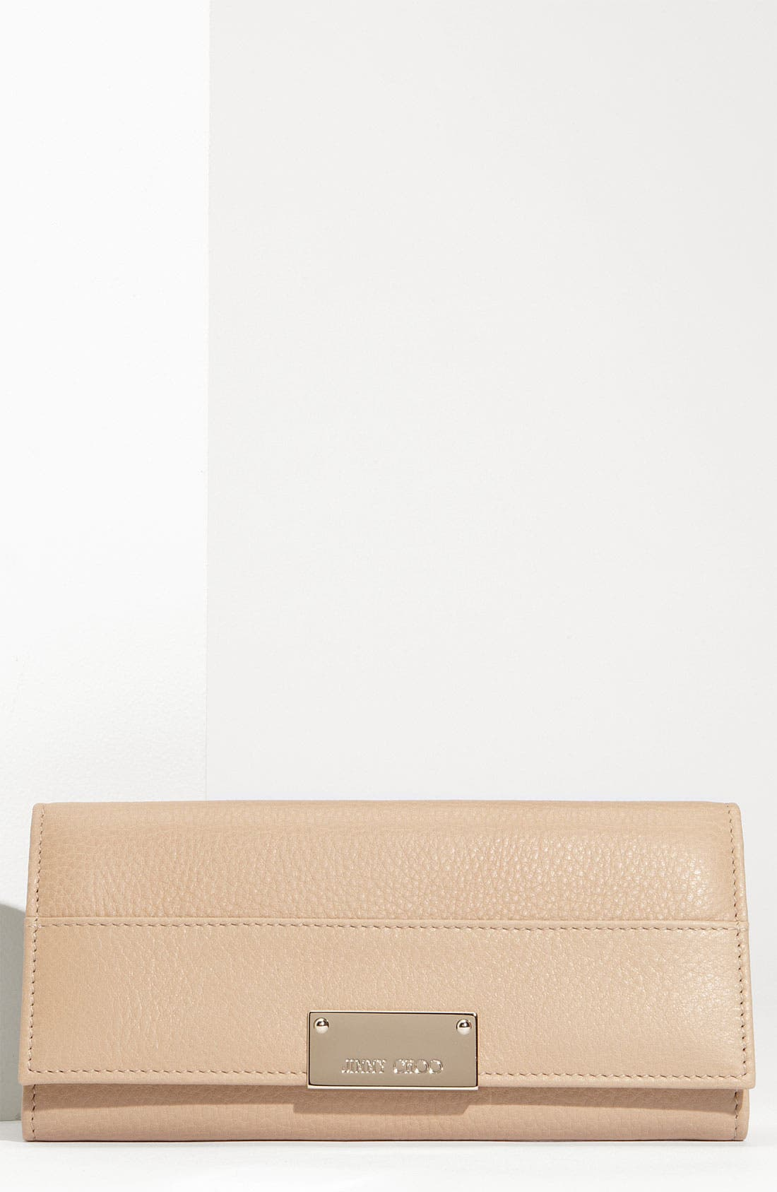 Alternate Image 1 Selected - Jimmy Choo 'Reza' Calfskin Leather Wallet