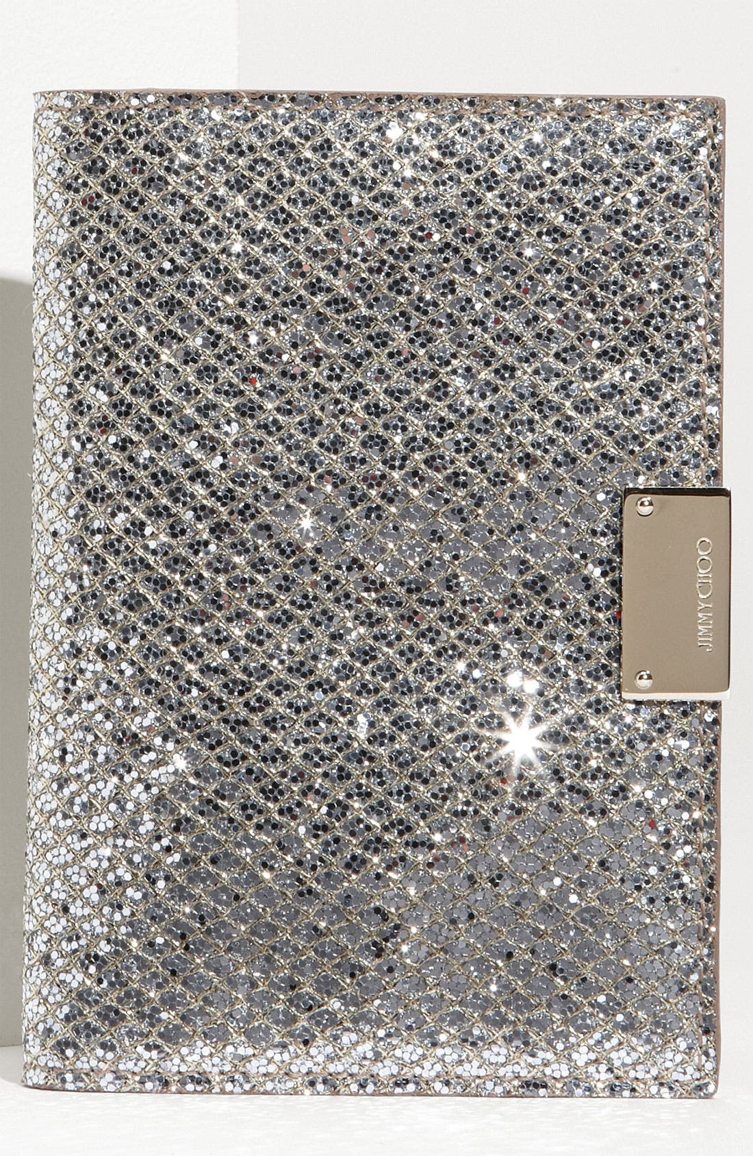 Alternate Image 1 Selected - Jimmy Choo 'Reno' Fabric Passport Holder