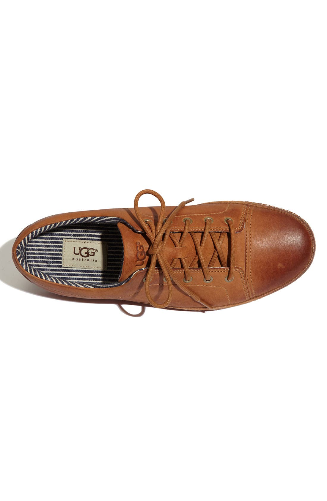 Alternate Image 3  - UGG® Australia 'Duncan Bay' Leather Sneaker (Men)