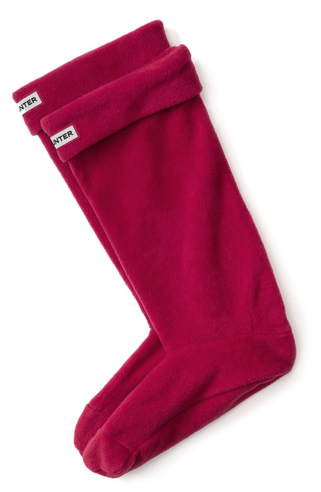 Alternate Image 1 Selected - Hunter Fleece Welly Socks