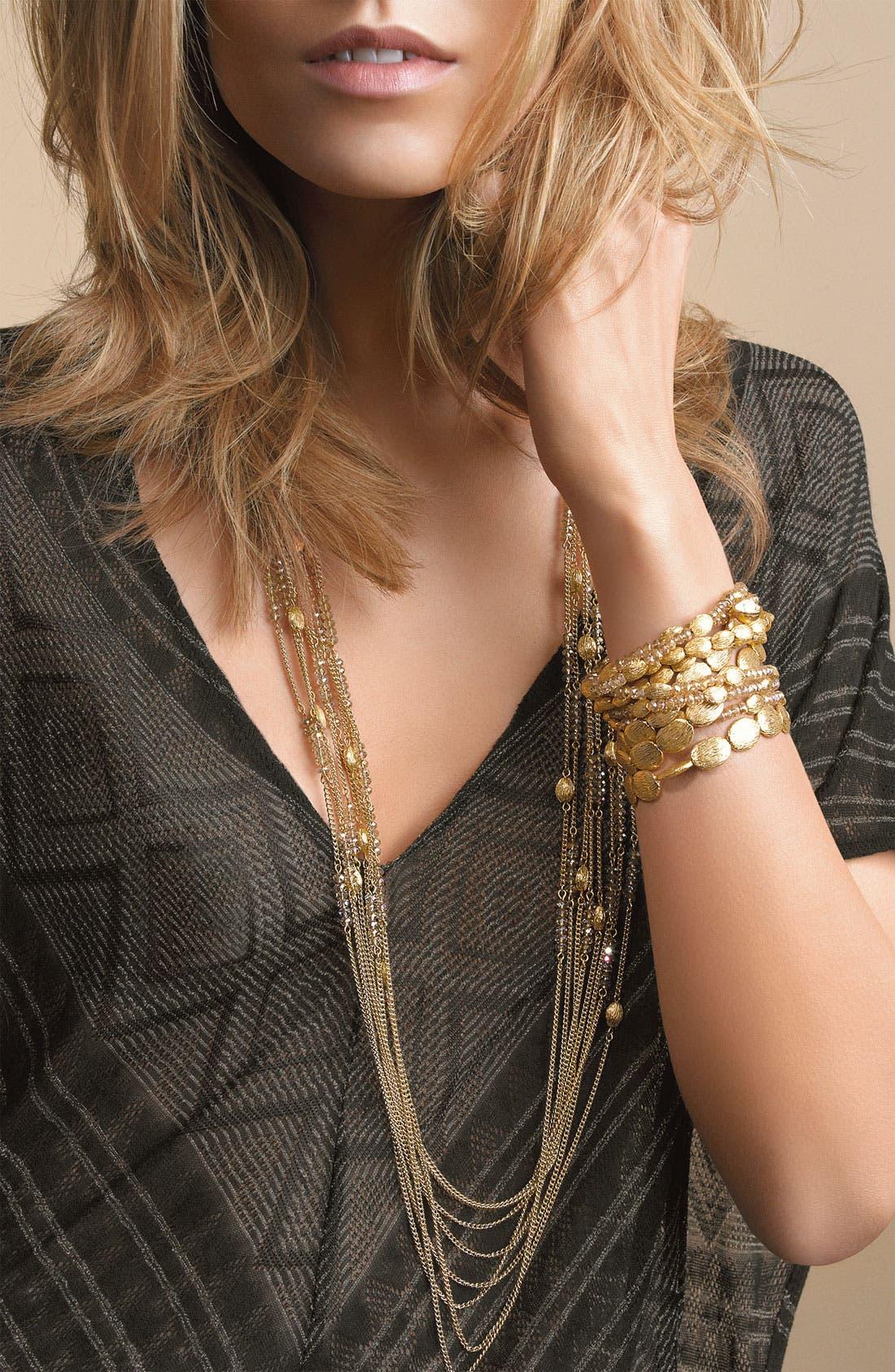 Alternate Image 2  - Nordstrom Multi Row Bead Necklace