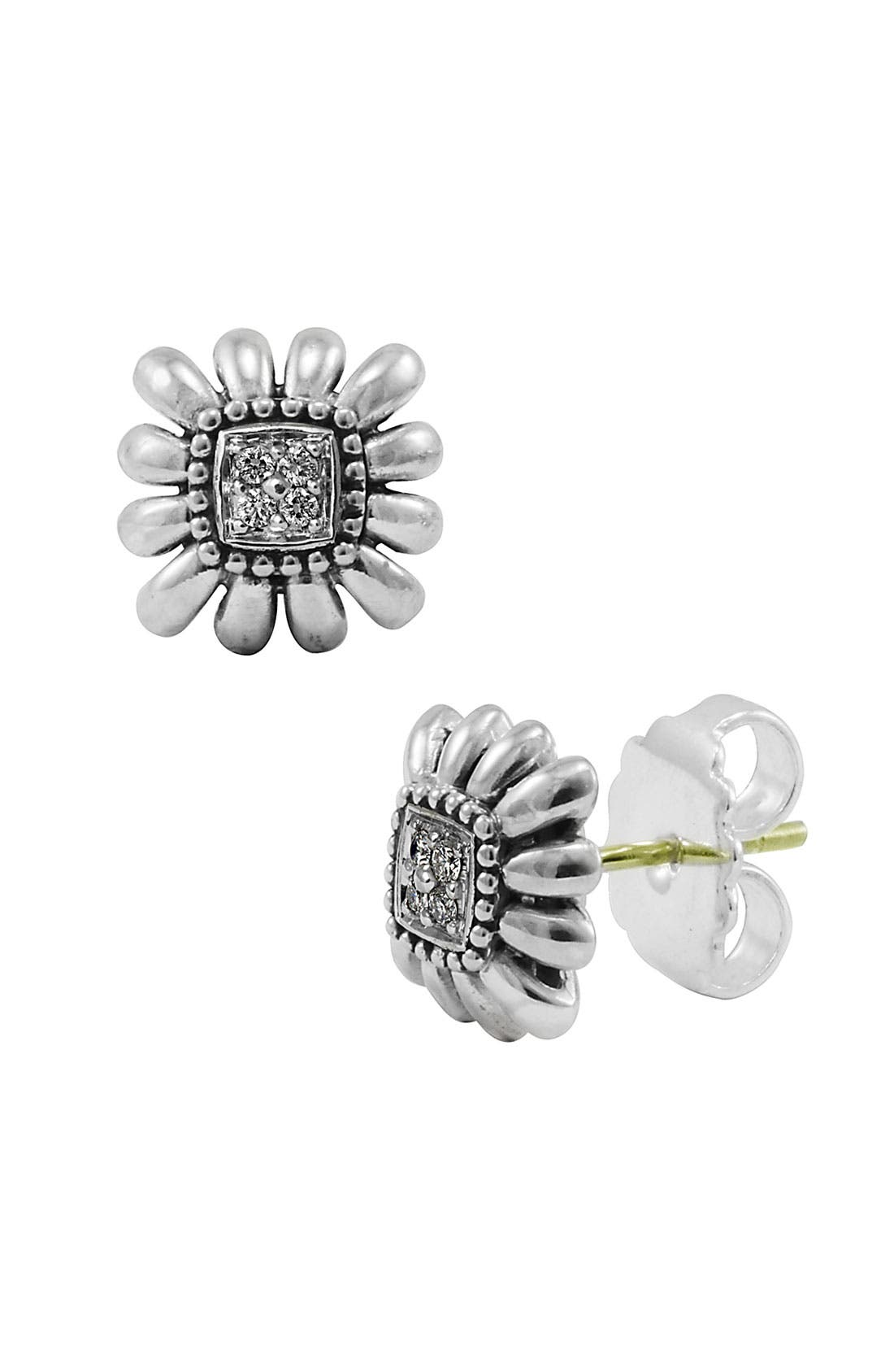 Main Image - LAGOS 'Prêt-à-Porter' Diamond Daisy Earrings