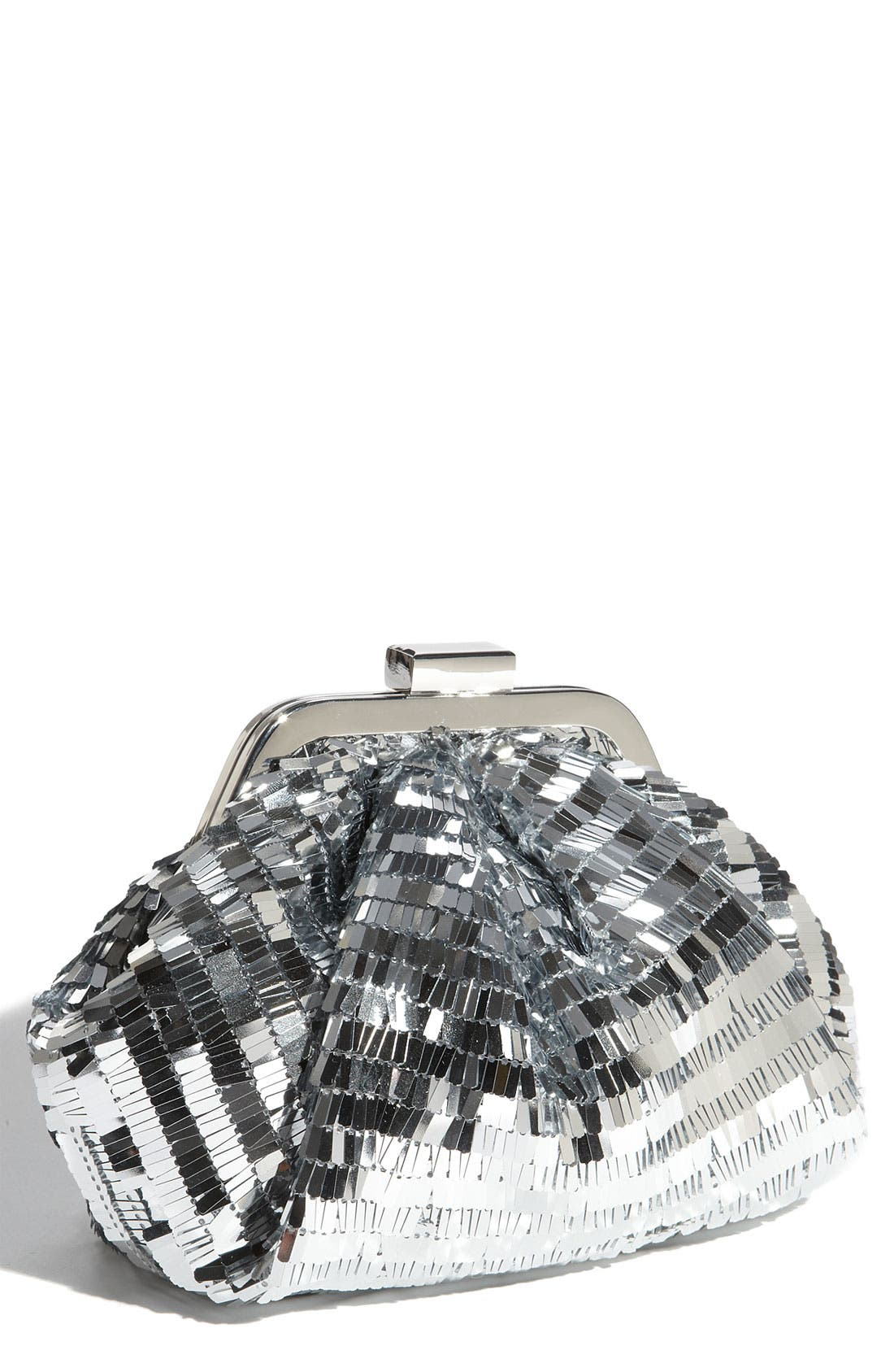 Alternate Image 1 Selected - Sondra Roberts Sequin Pouch Clutch
