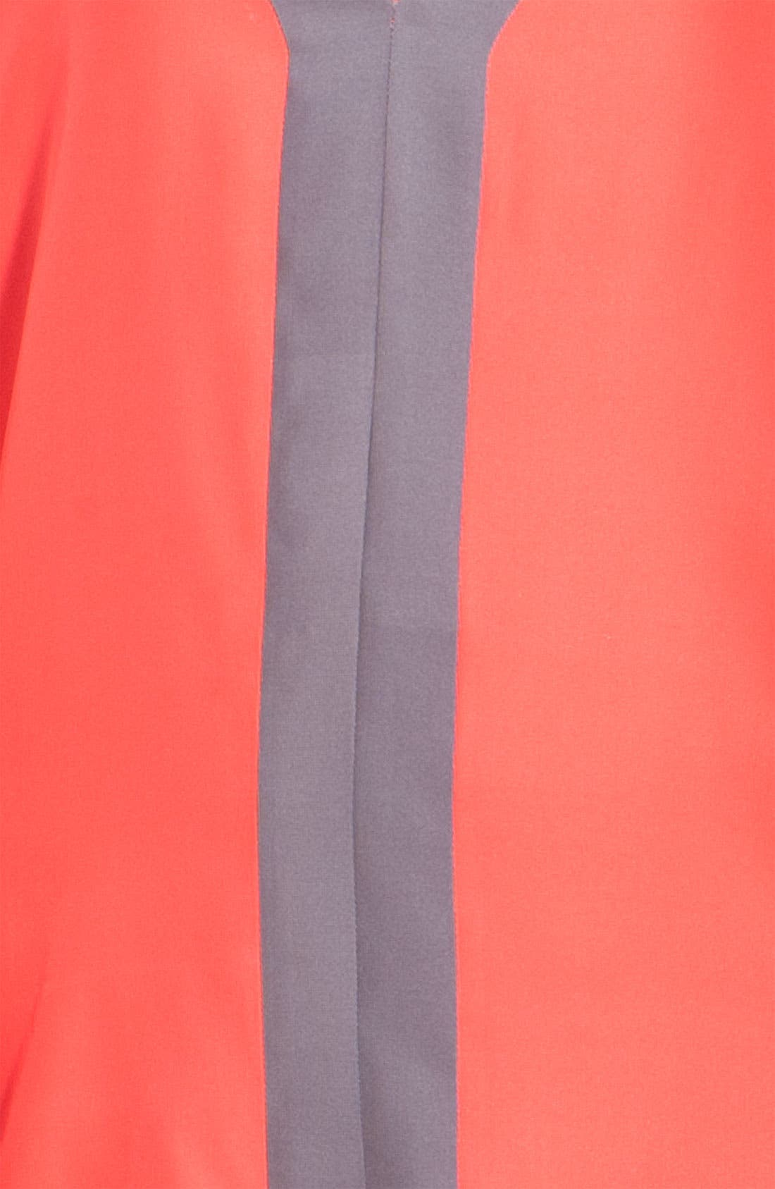 Alternate Image 4  - Parker Colorblock Sleeveless Silk Minidress