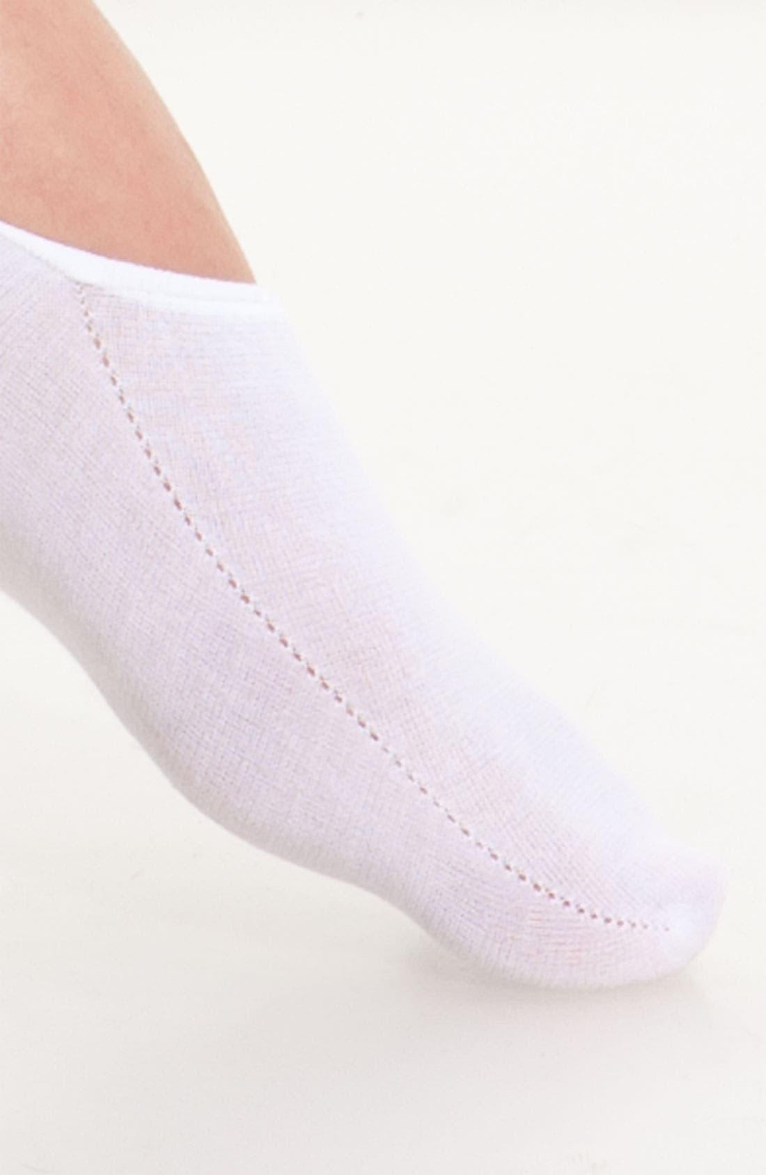 Alternate Image 2  - Hue High Cut Liner Socks