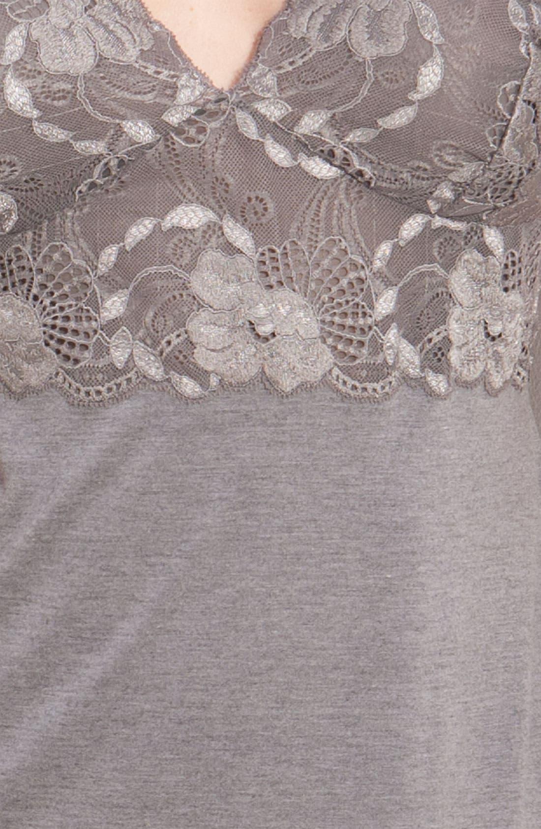 Alternate Image 3  - Natori 'Zen Floral' Chemise (Plus Size)