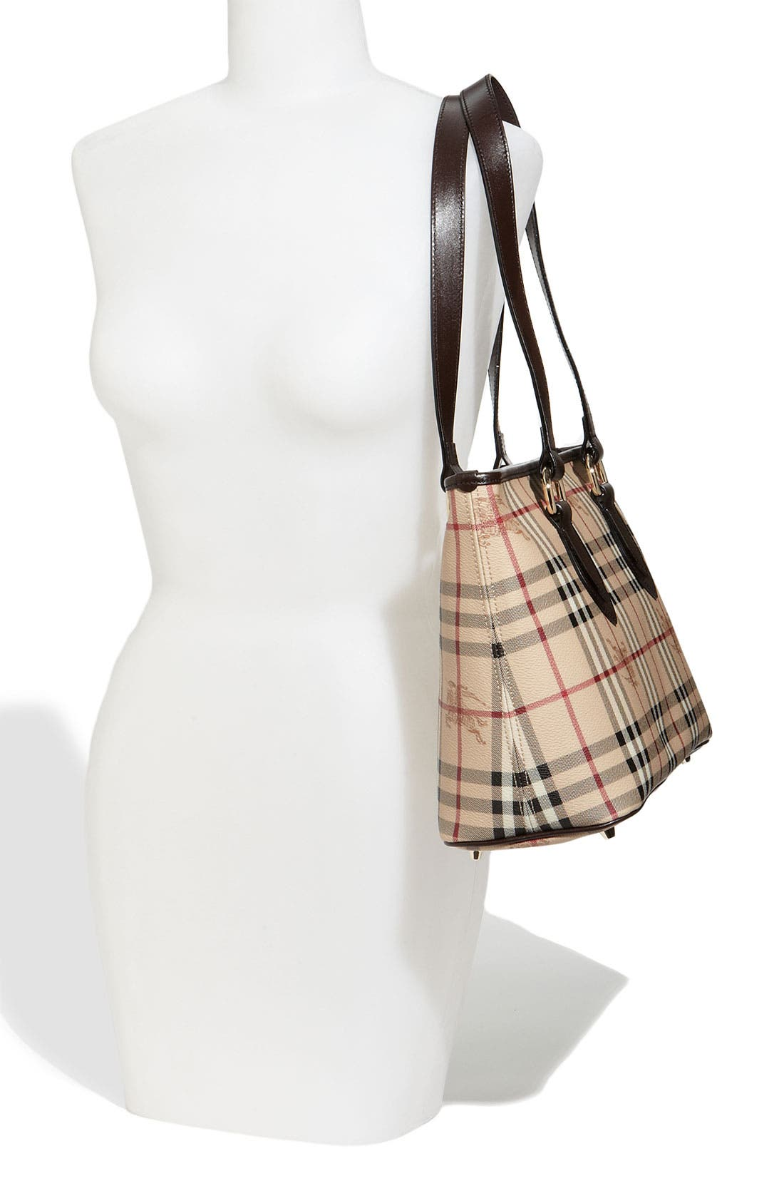 Alternate Image 2  - Burberry 'Haymarket Check' Shopper, Medium