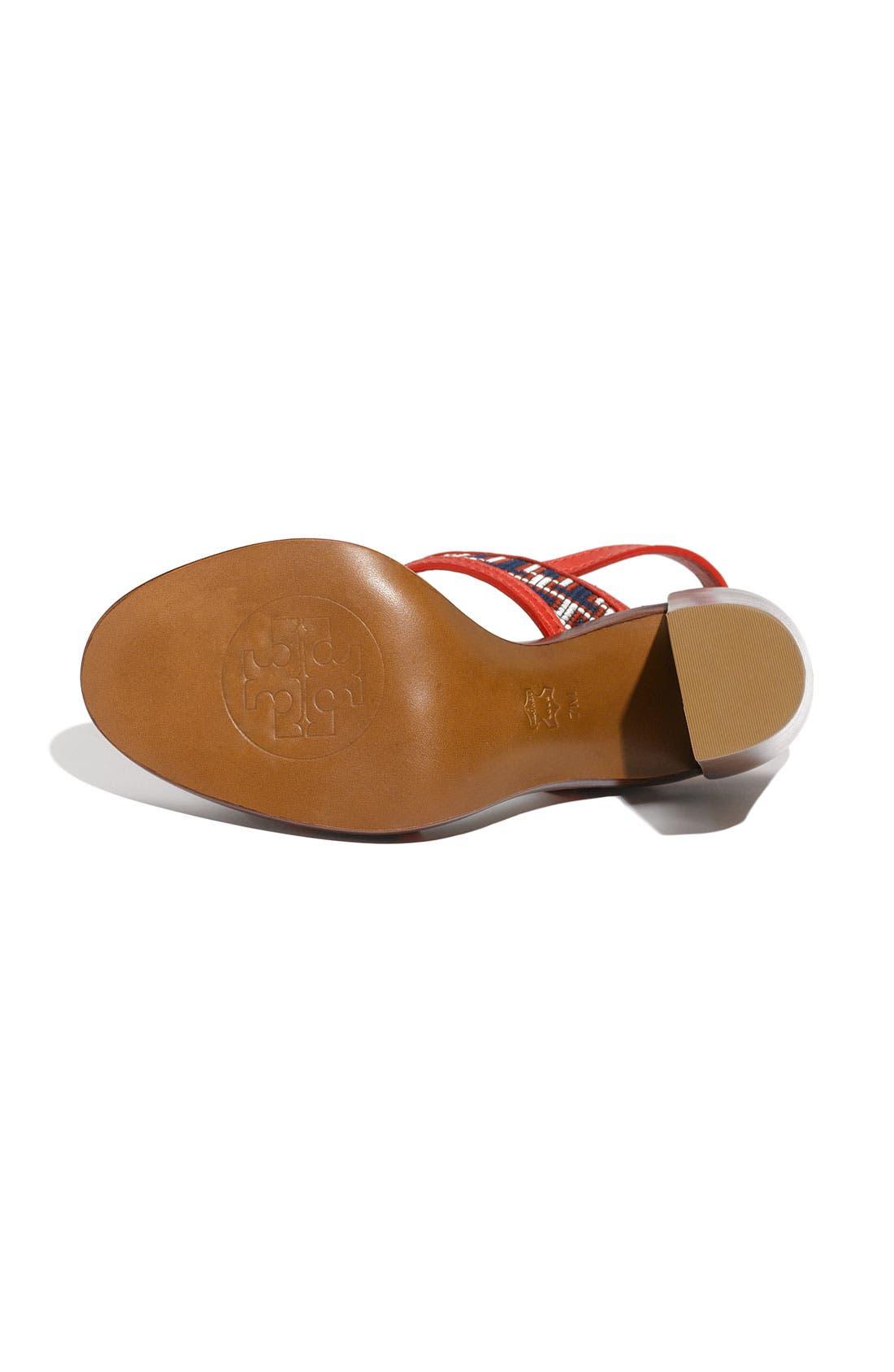 Alternate Image 4  - Tory Burch 'Florian' High Heel Sandal