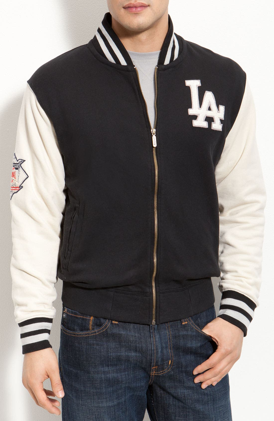 Alternate Image 1 Selected - Red Jacket 'Los Angeles Dodgers - Homeroom' Jacket
