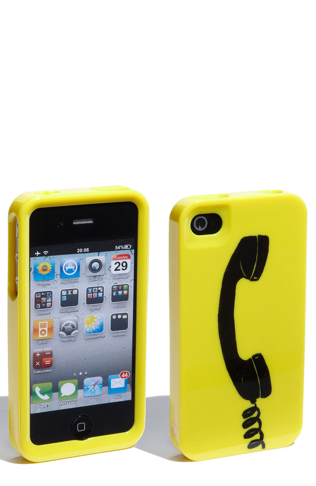 Alternate Image 1 Selected - kate spade new york 'chit chat' iPhone 4 & 4S case