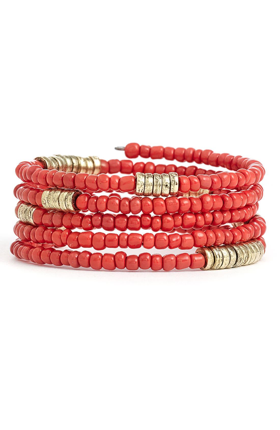 Alternate Image 1 Selected - Stephan & Co. Coil Bracelet