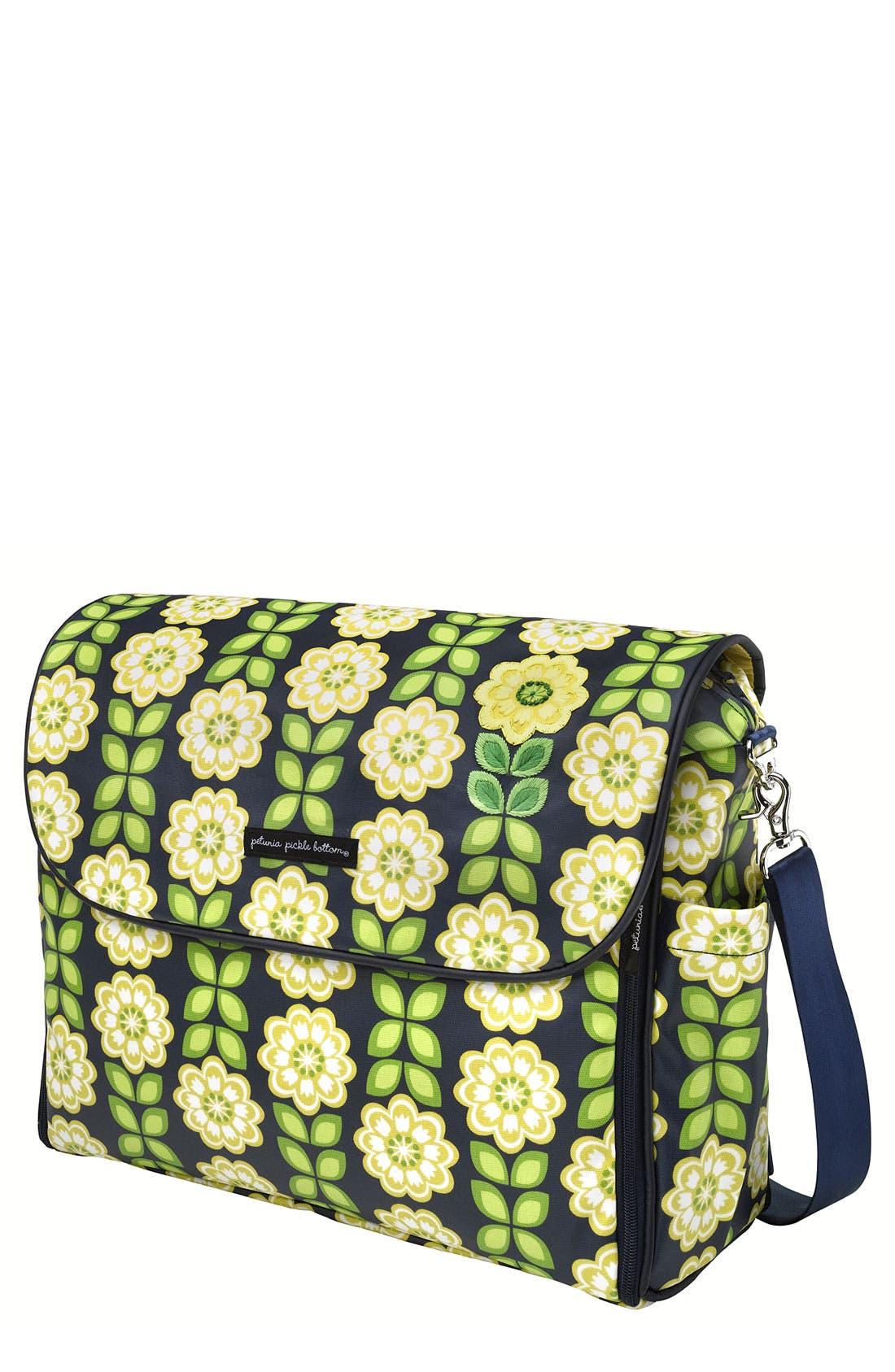 Alternate Image 1 Selected - Petunia Pickle Bottom Glazed 'Abundance Boxy Backpack' Diaper Bag