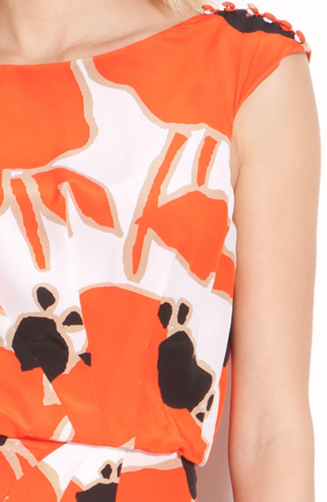 Alternate Image 3  - Jessica Simpson Button Detail Pleat Front Dress
