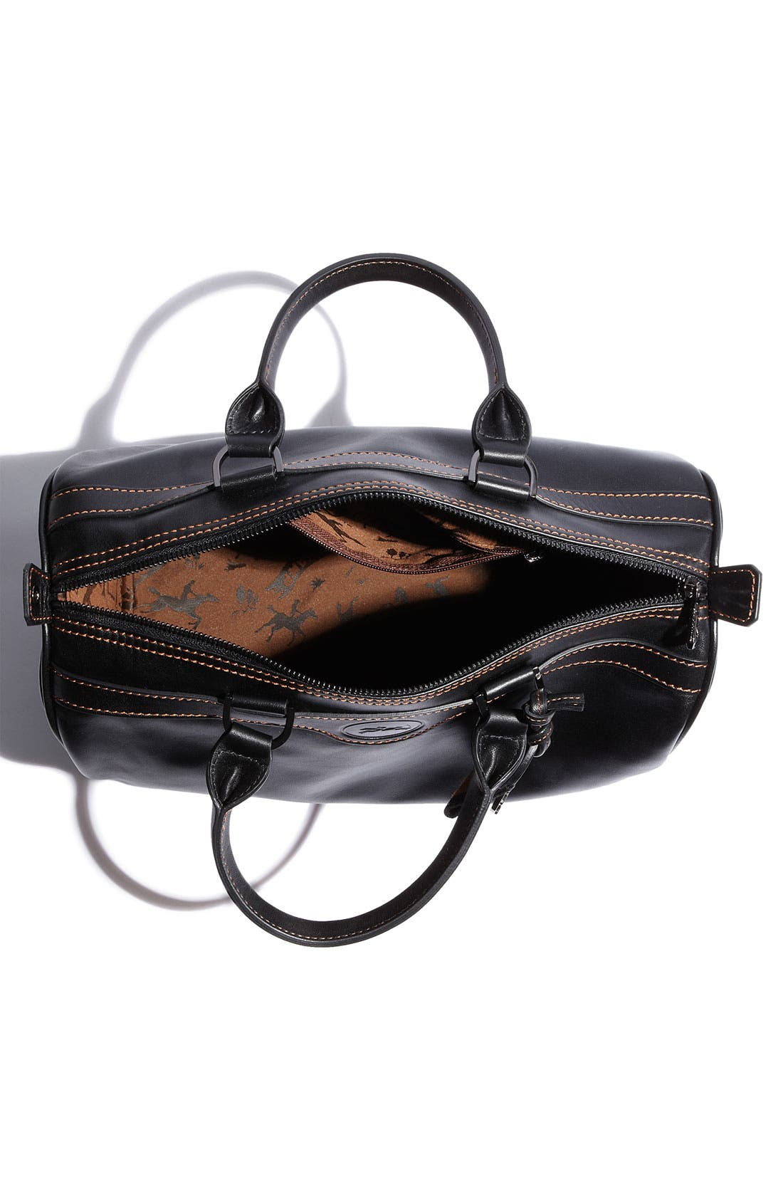 Alternate Image 3  - Longchamp 'Au Sultan' Leather Satchel