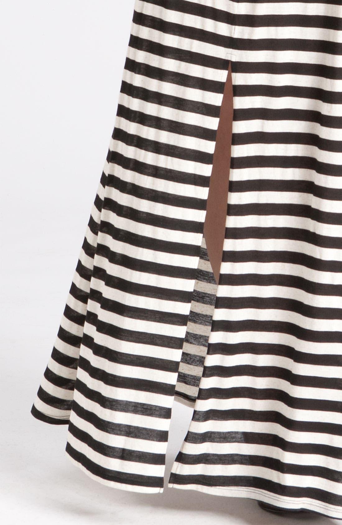 Alternate Image 3  - Gibson Stripe Knit Maxi Dress (Plus)