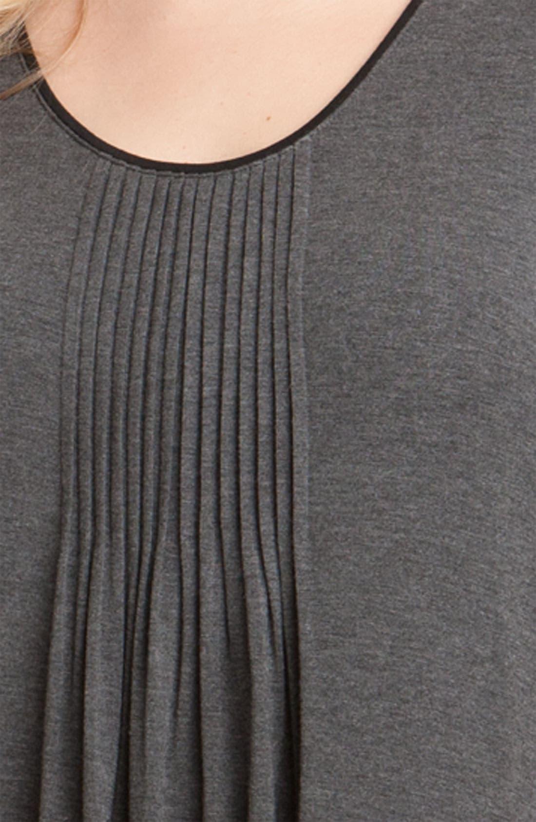 Alternate Image 3  - DKNY '7 Easy Pieces' Pintuck Sleep Shirt (Plus Size)