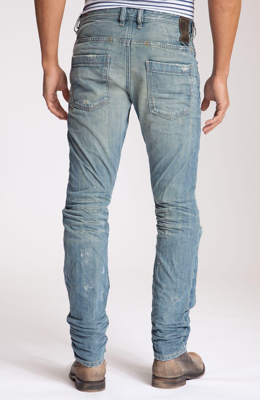 Alternate Image 1 Selected - DIESEL® 'Braddom' Slim Fit Jeans (8880P)