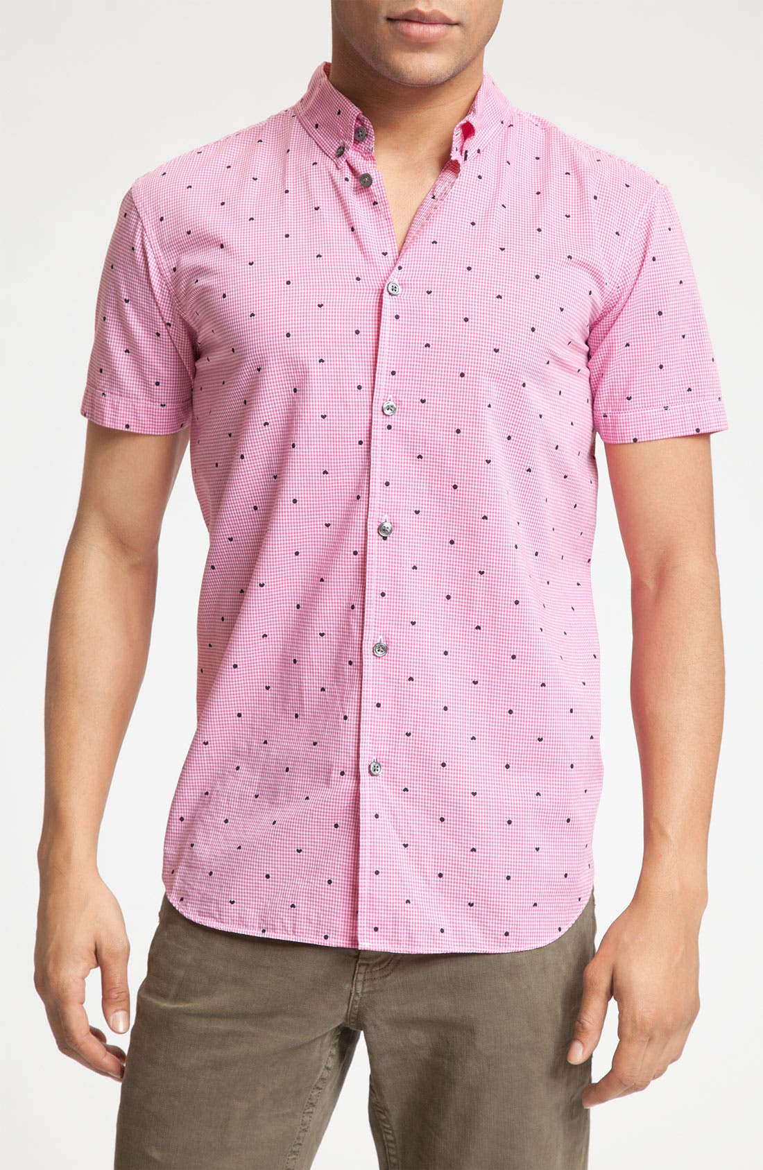Alternate Image 1 Selected - MARC BY MARC JACOBS 'Hearts & Dots' Shirt