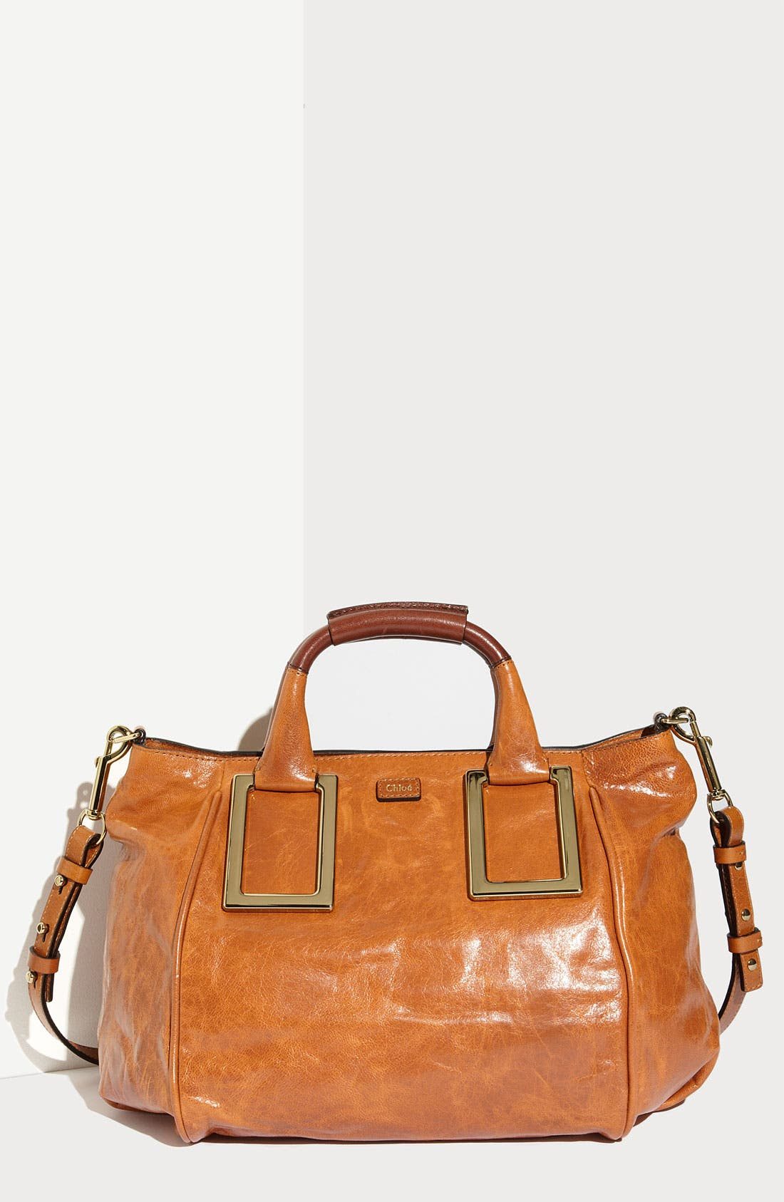 Alternate Image 1 Selected - Chloé 'Ethel - Medium' Leather Satchel