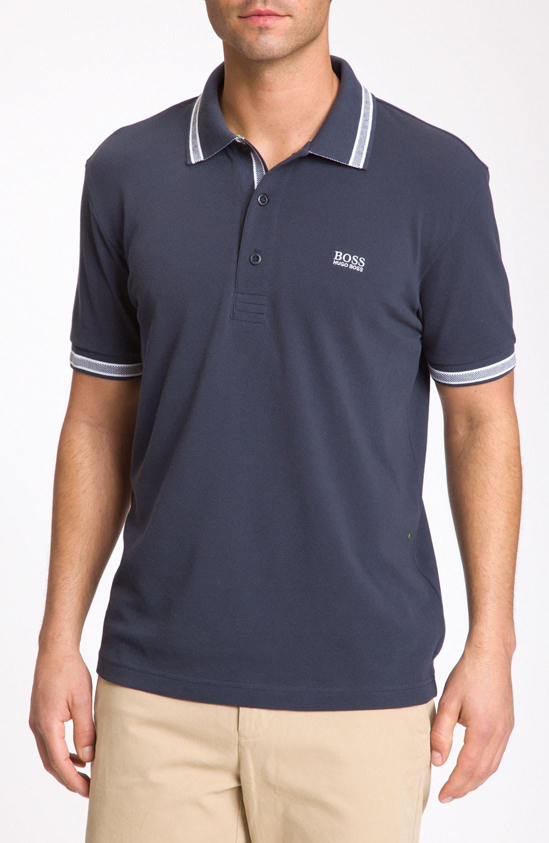 Main Image - BOSS Green 'Paddy' Modern Fit Golf Polo