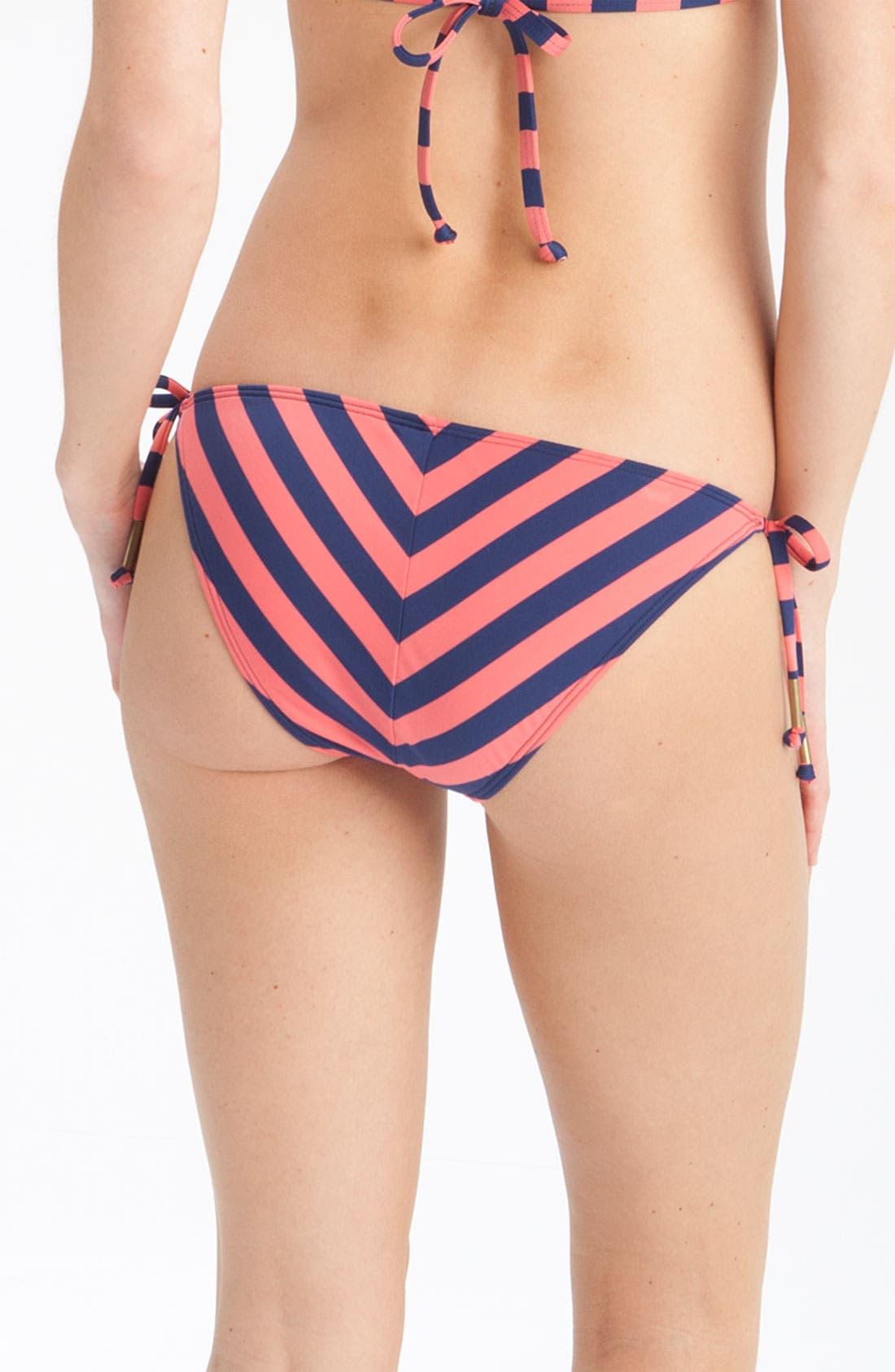 Alternate Image 2  - Ella Moss Side Tie Bikini Bottoms