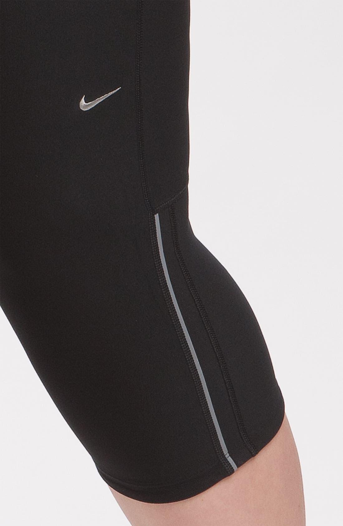 Alternate Image 3  - Nike 'Filament' Capris (Plus Size)