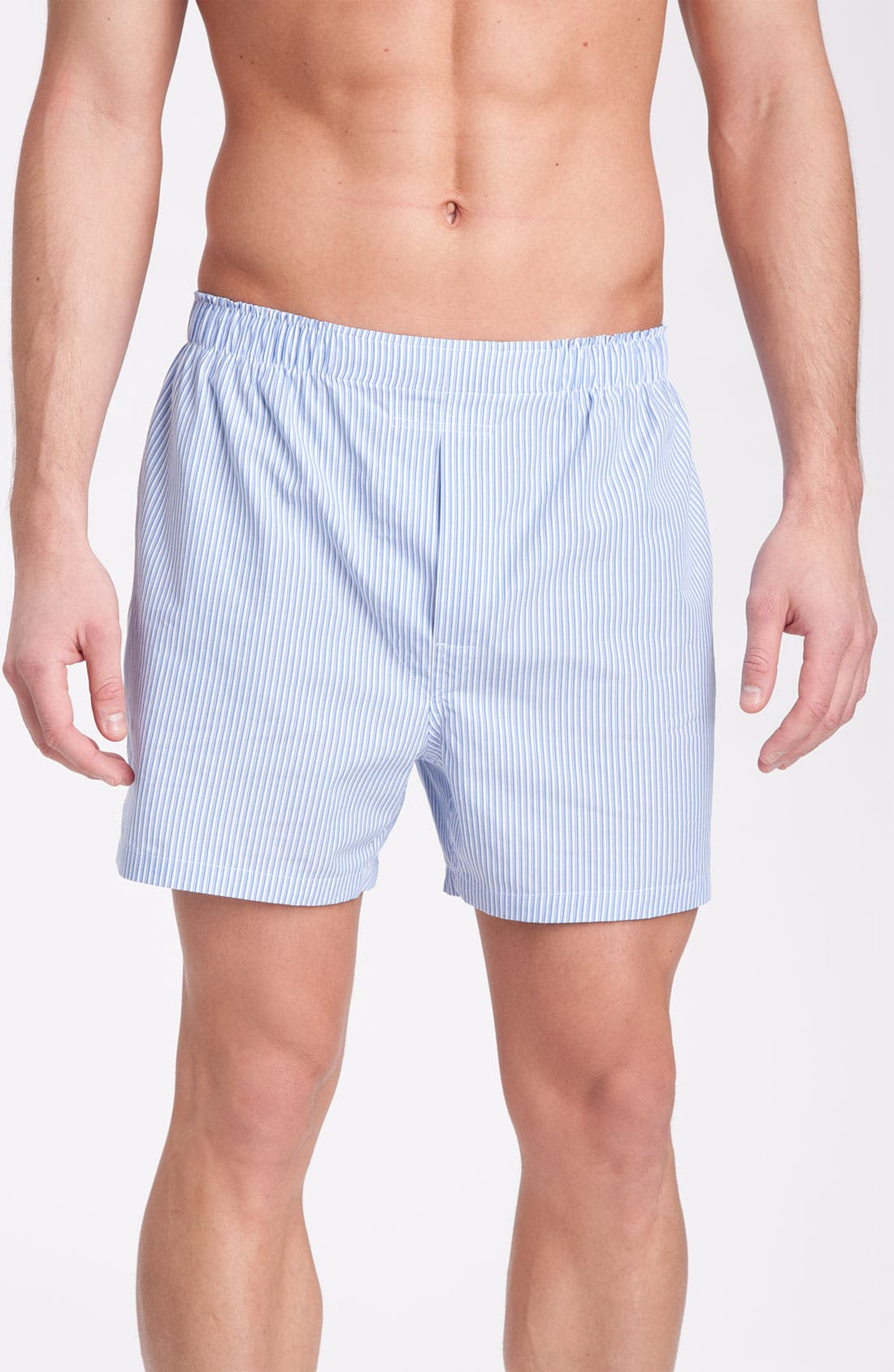 Main Image - Brooks Brothers Shadow Stripe Boxers