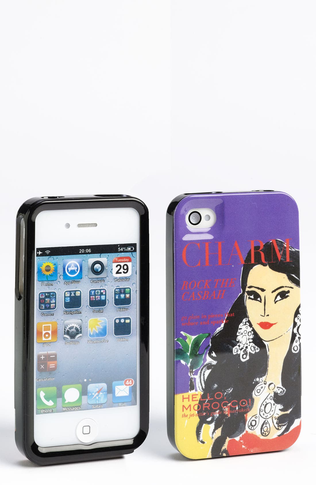 Alternate Image 1 Selected - kate spade new york 'charm' iPhone 4 & 4S case