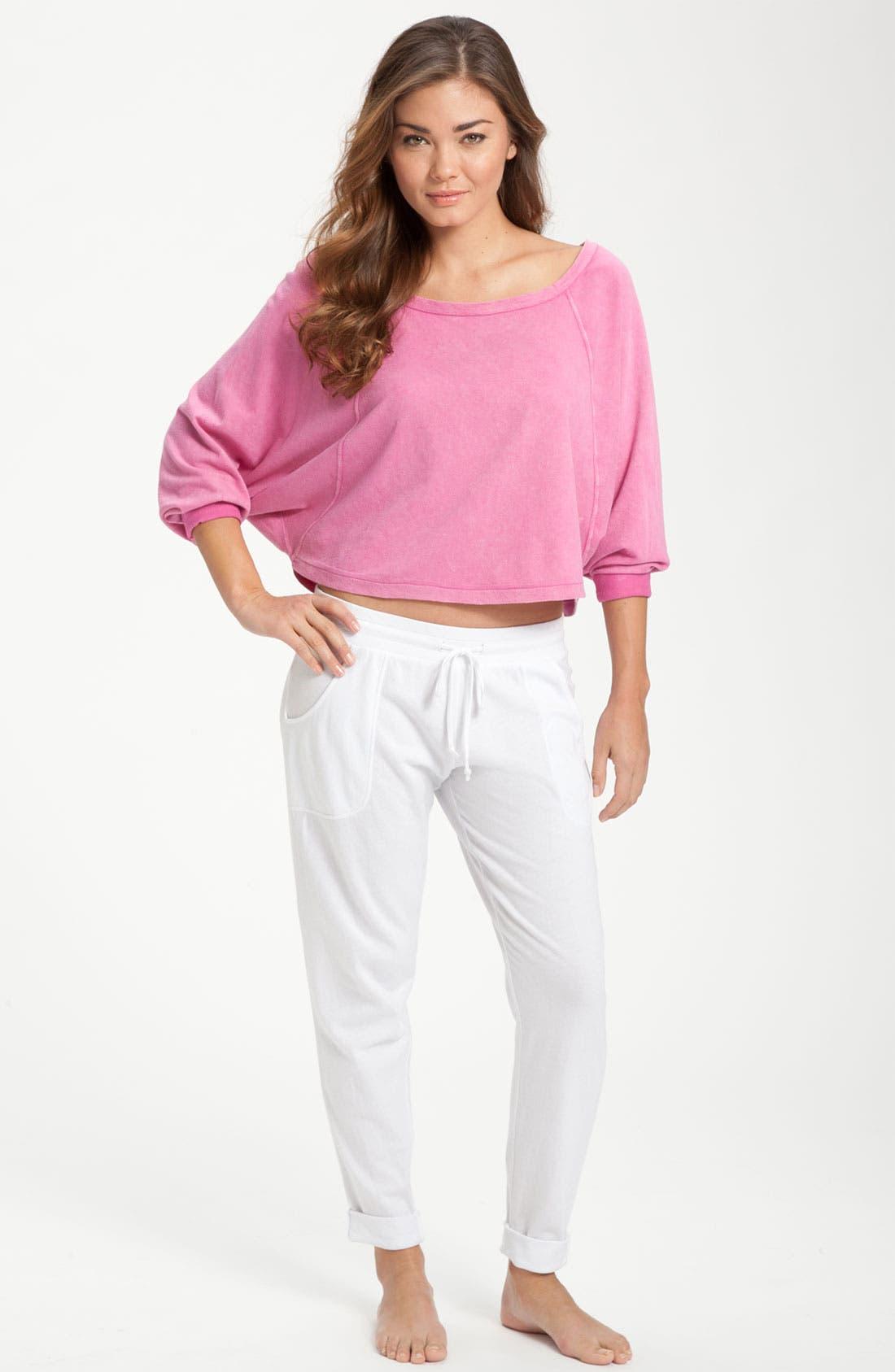 Alternate Image 4  - Make + Model 'Close to You' Crop Pants
