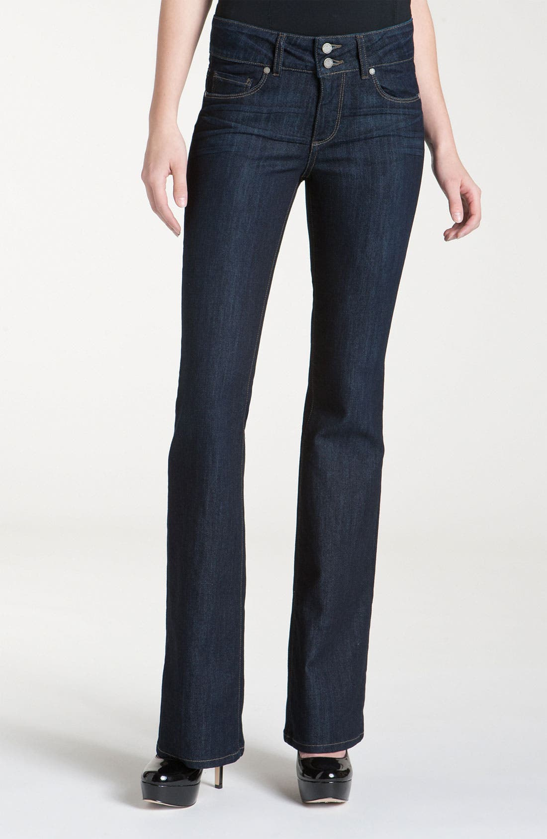Alternate Image 1 Selected - Paige Denim 'Hidden Hills' Bootcut Jeans (Dream)