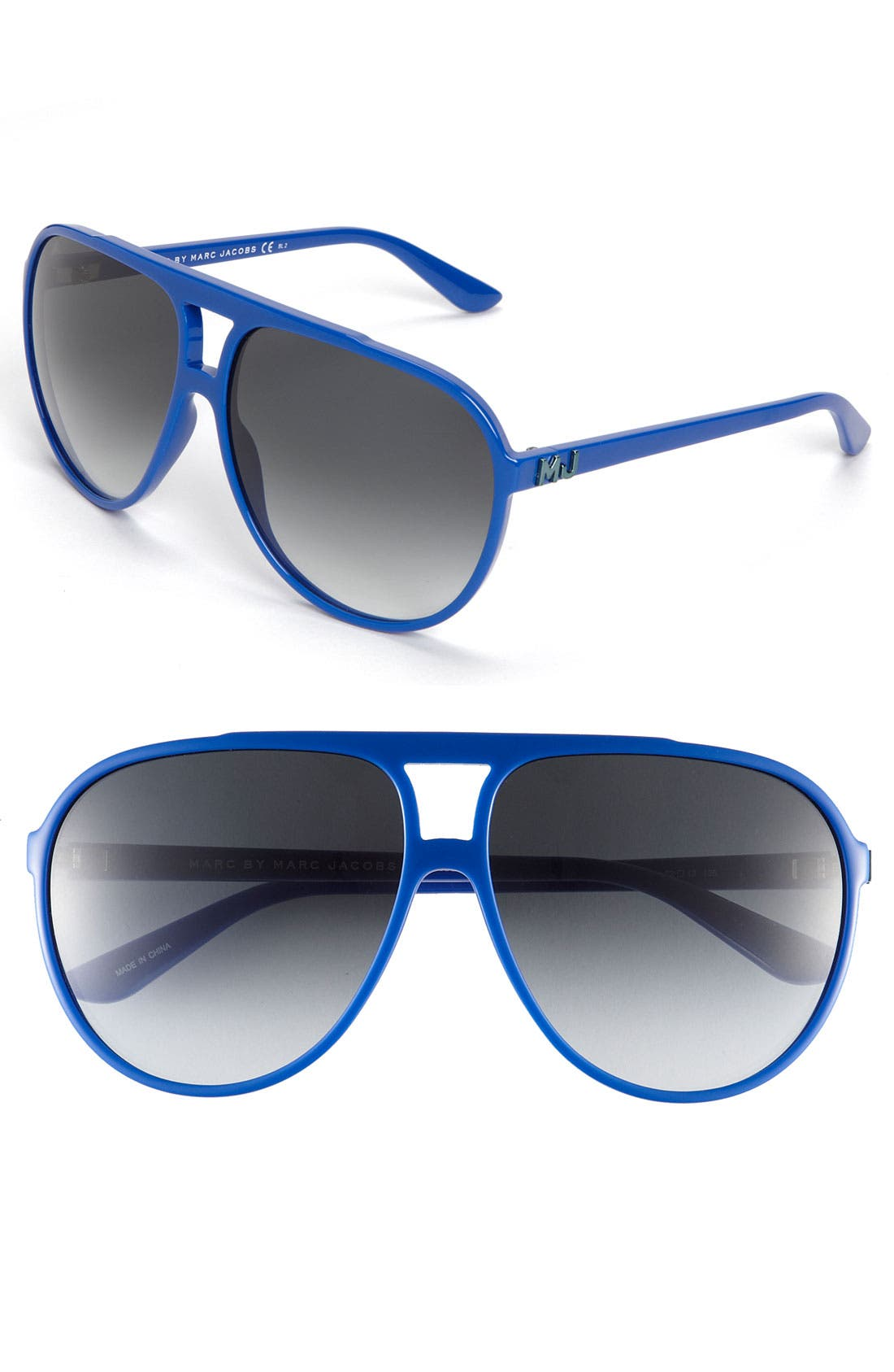Main Image - MARC BY MARC JACOBS Aviator Sunglasses