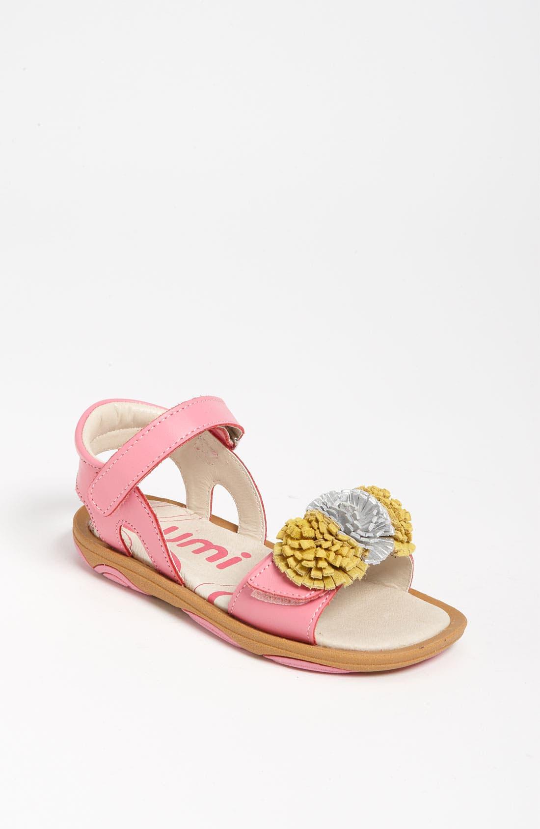 Alternate Image 1 Selected - Umi 'Serenna' Adjustable Sandal (Toddler, Little Kid & Big Kid)