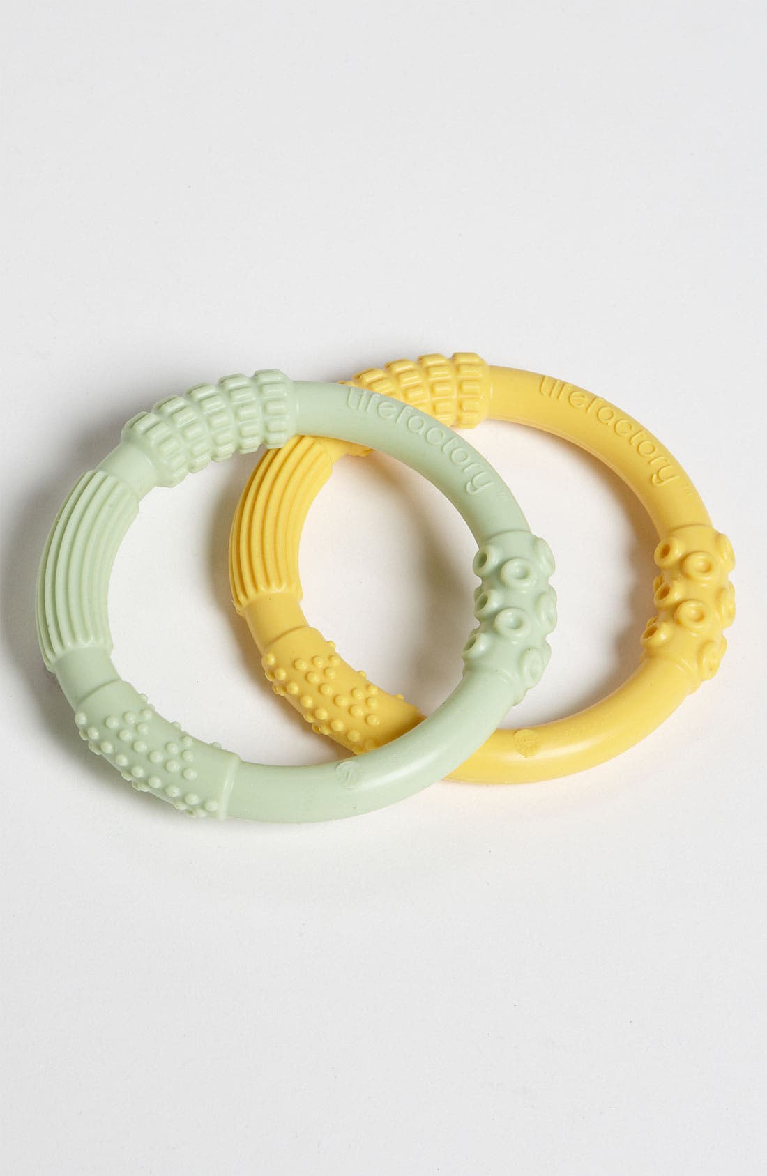 Alternate Image 1 Selected - Lifefactory Silicone Teether (2-Pack)