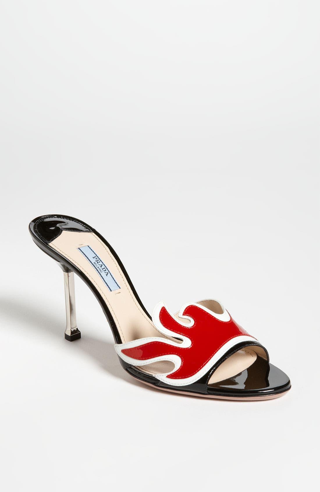 Main Image - Prada Flame Slide Sandal