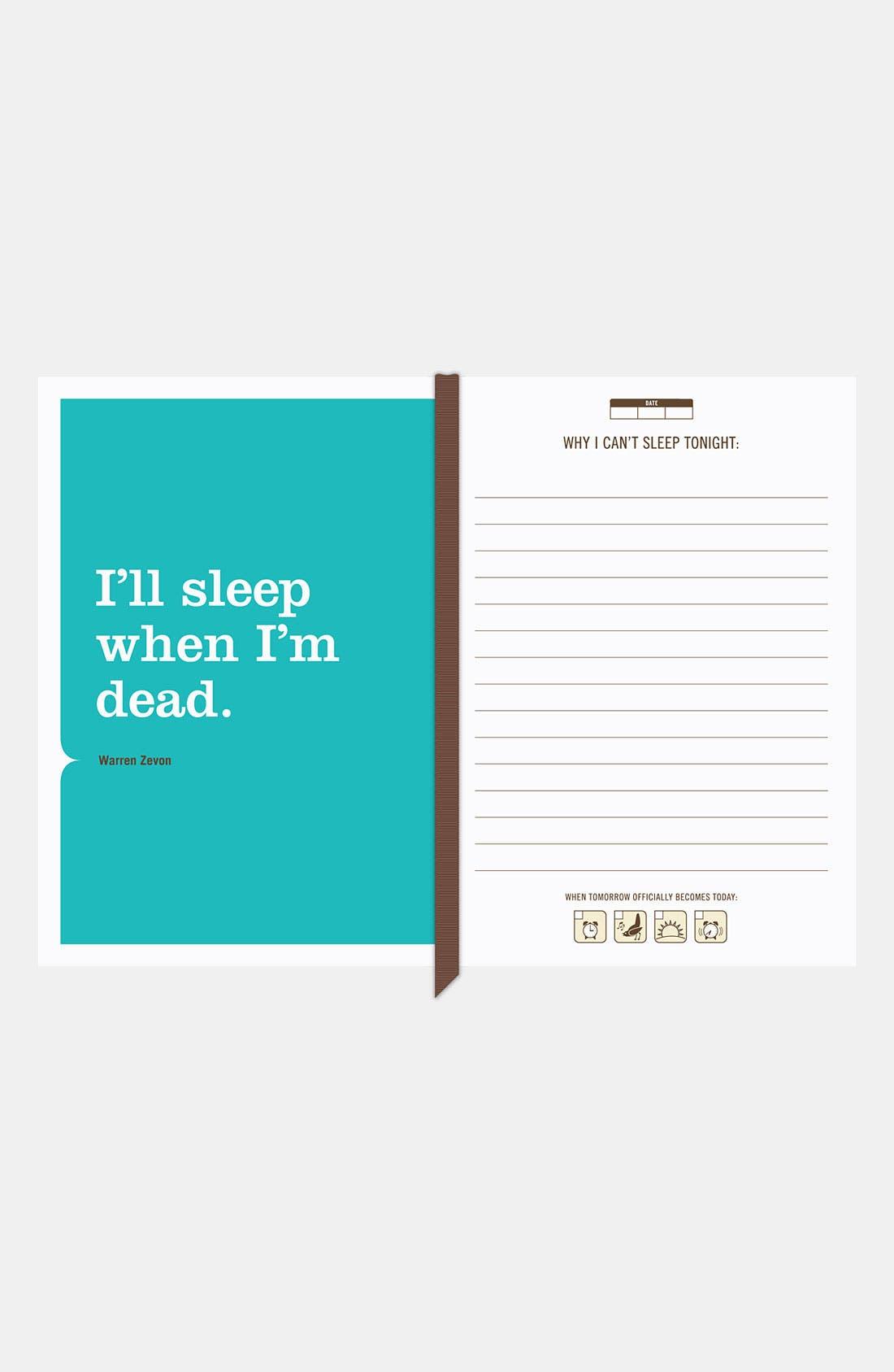 Alternate Image 3  - Knock Knock 'I Can't Sleep' Mini Journal