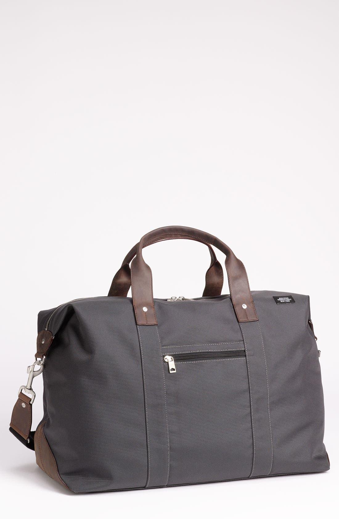 Alternate Image 1 Selected - Jack Spade 'Wing' Nylon Duffel Bag