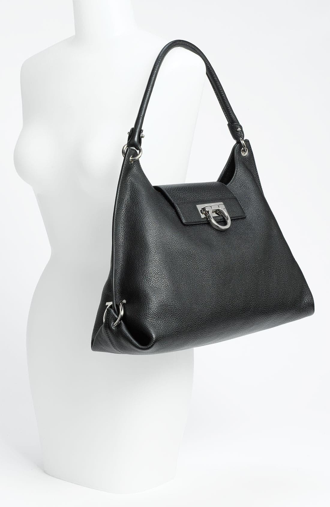 Alternate Image 2  - Salvatore Ferragamo 'Fanisa' Leather Hobo
