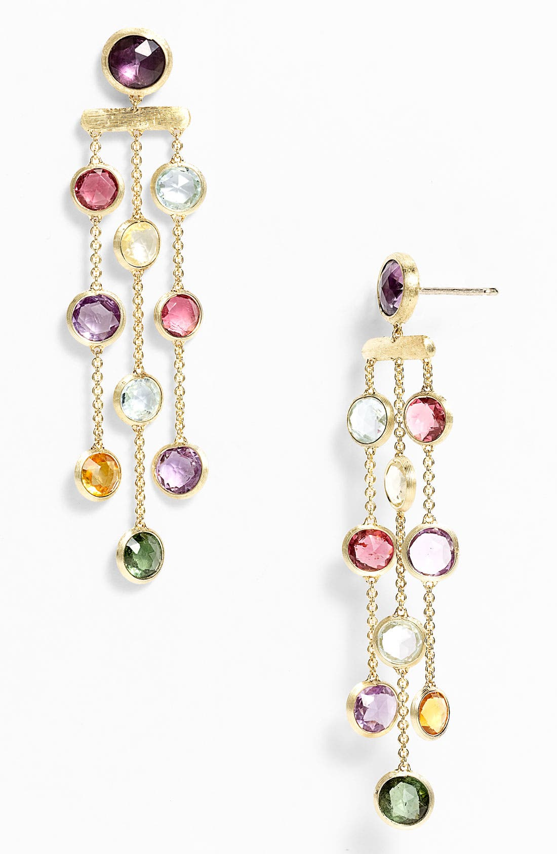 Alternate Image 1 Selected - Marco Bicego 'Mini Jaipur' Triple Strand Chandelier Earrings