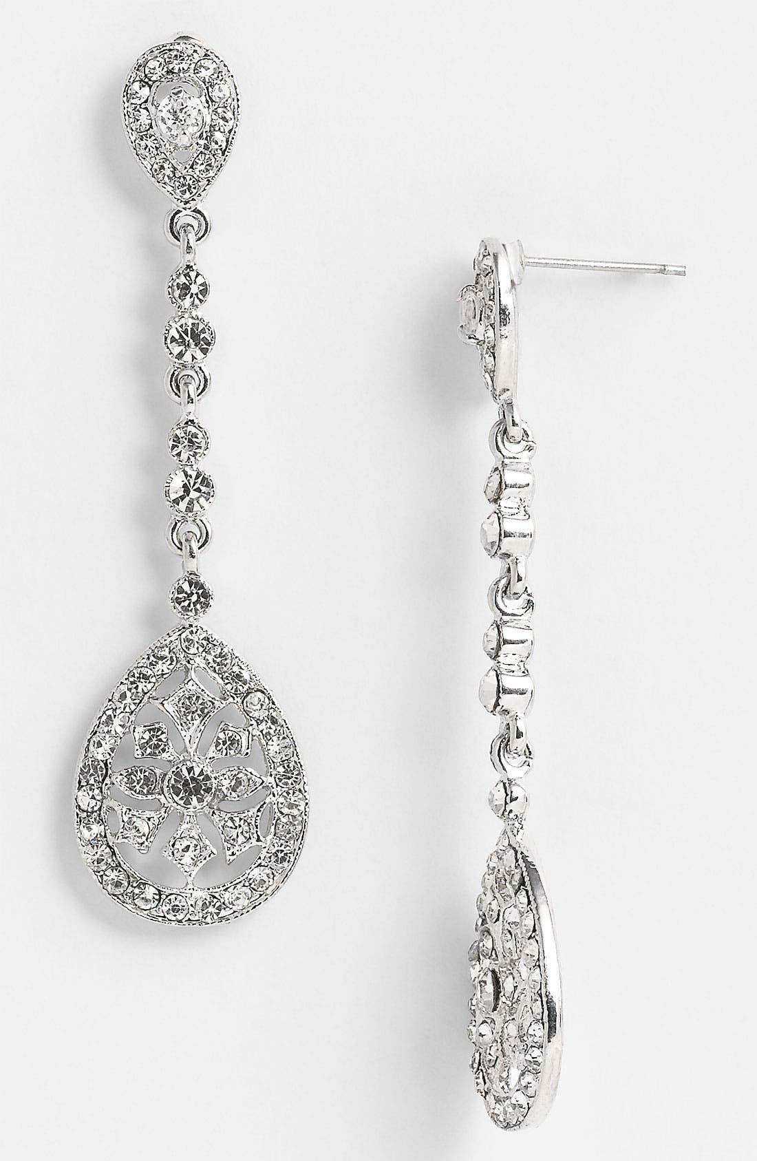 Alternate Image 1 Selected - Nina 'Maegan' Filigree Chandelier Earrings