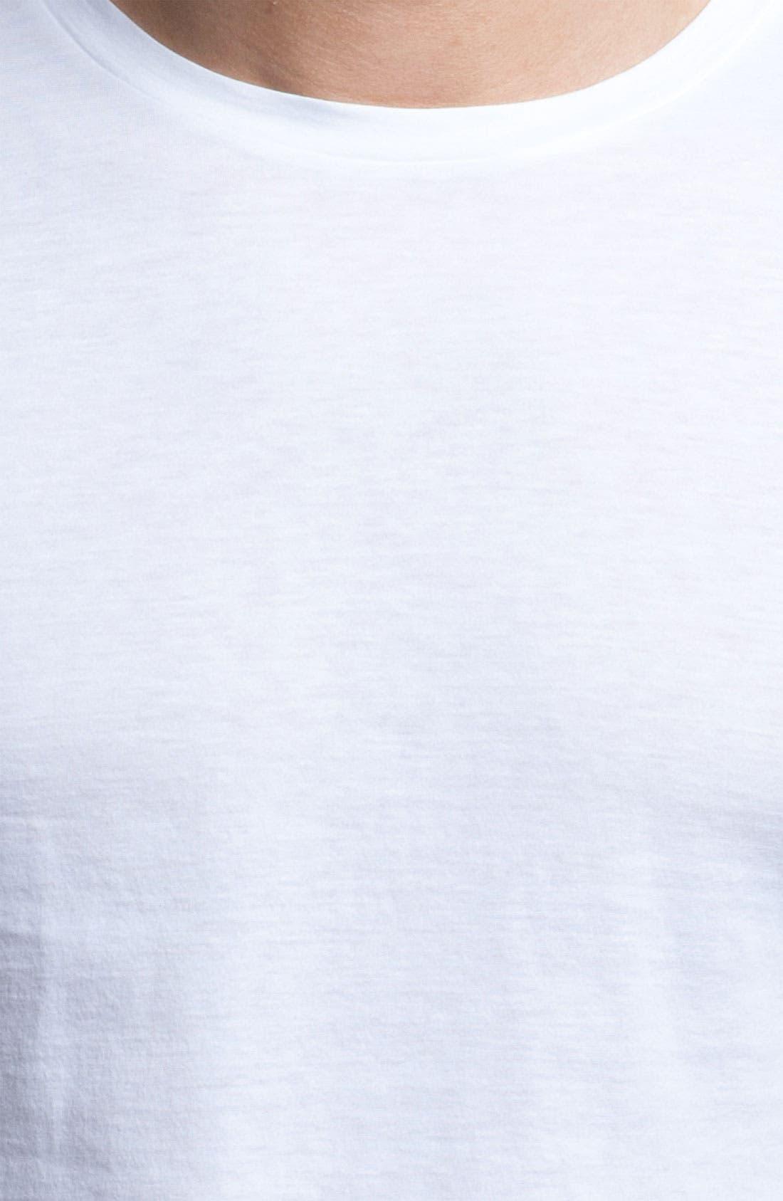Alternate Image 2  - Ermenegildo Zegna Pima Cotton Crewneck T-Shirt