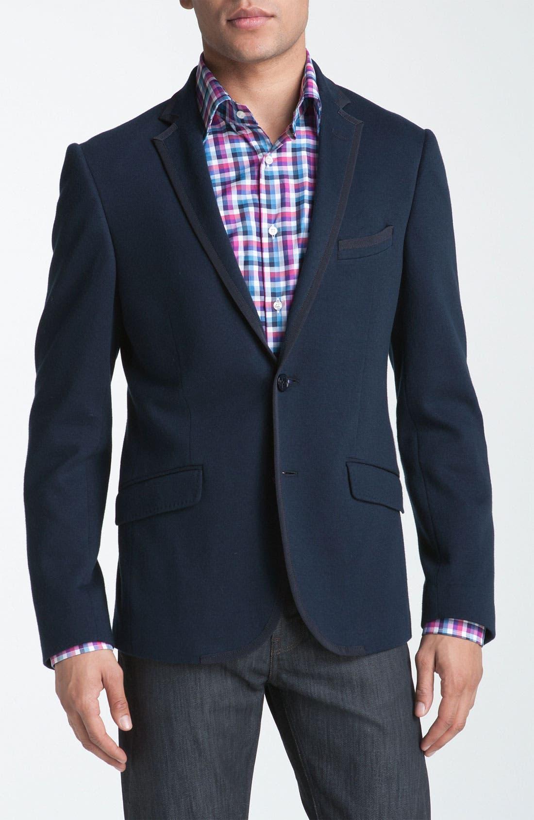 Alternate Image 1 Selected - Etro Navy Blazer