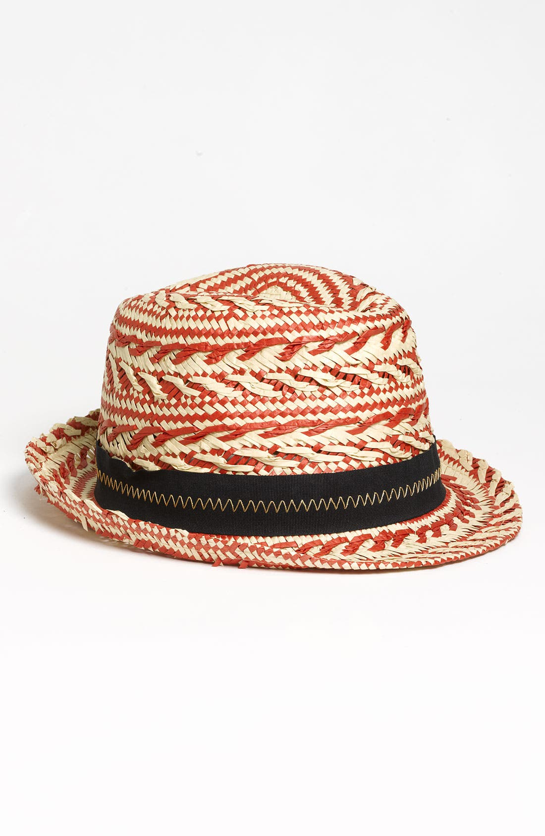 Alternate Image 1 Selected - Laundry by Shelli Segal 'Zoe' Two Tone Fedora