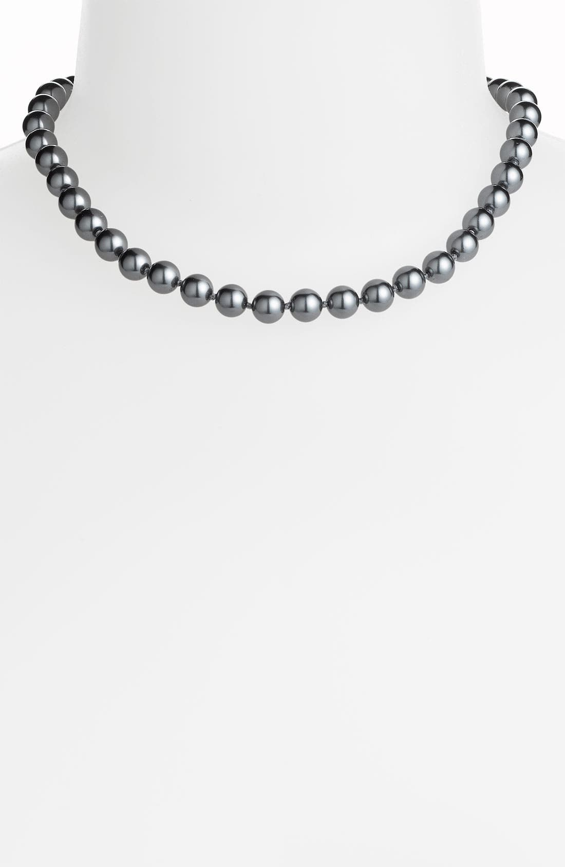 Alternate Image 1 Selected - Givenchy Glass Pearl Necklace