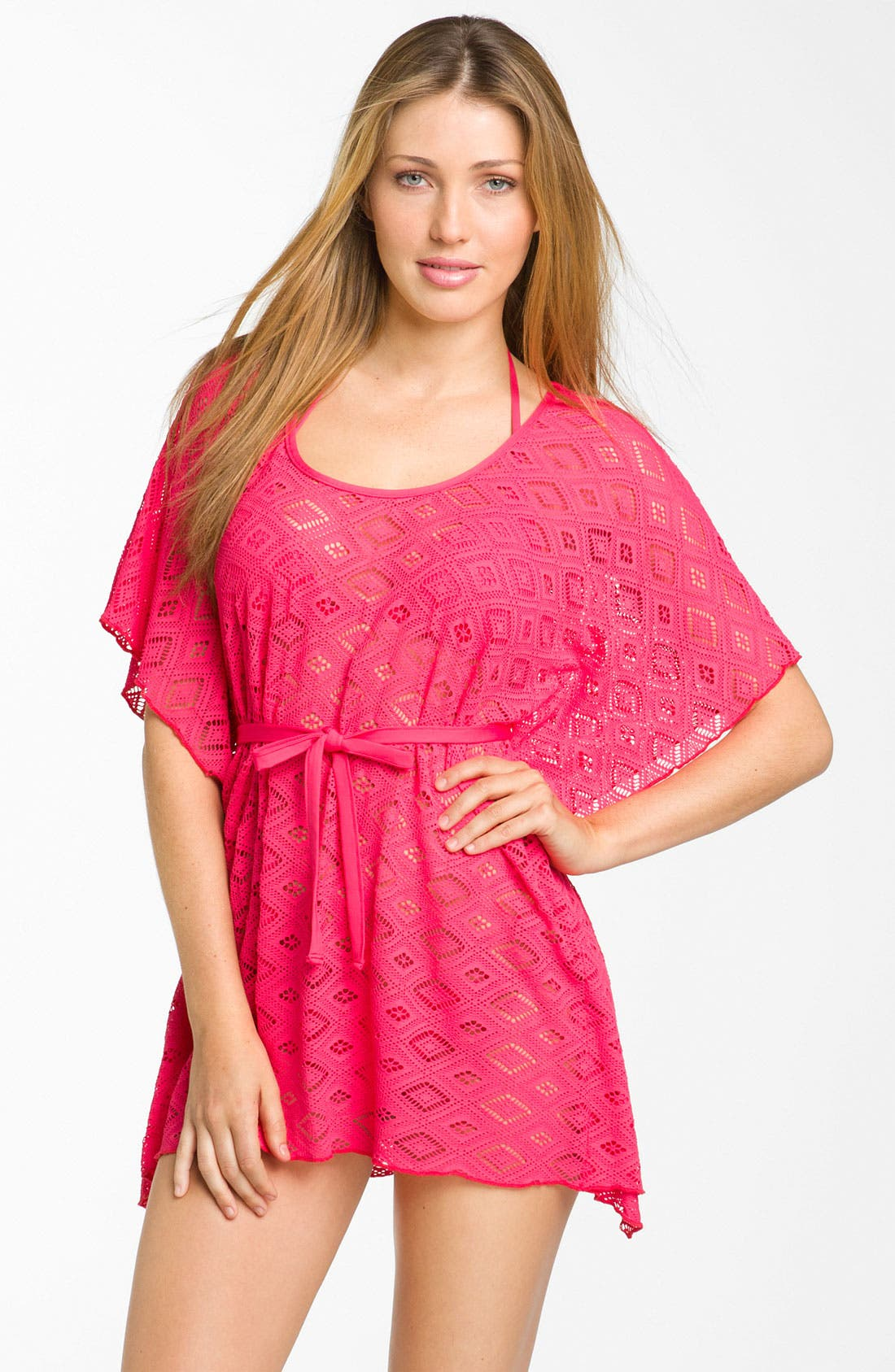 Main Image - Becca Crochet Cover-Up