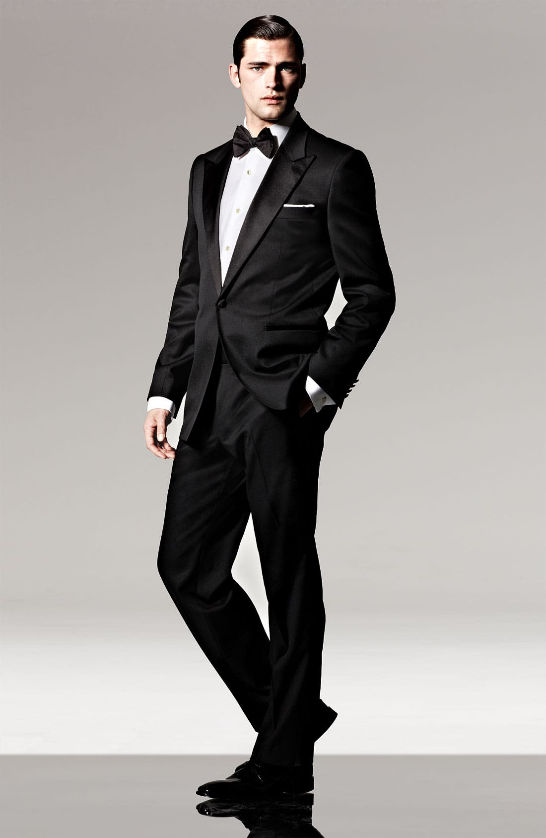 Alternate Image 8  - BOSS HUGO BOSS 'Grant' Classic Fit Tuxedo (Free Next Day Shipping)